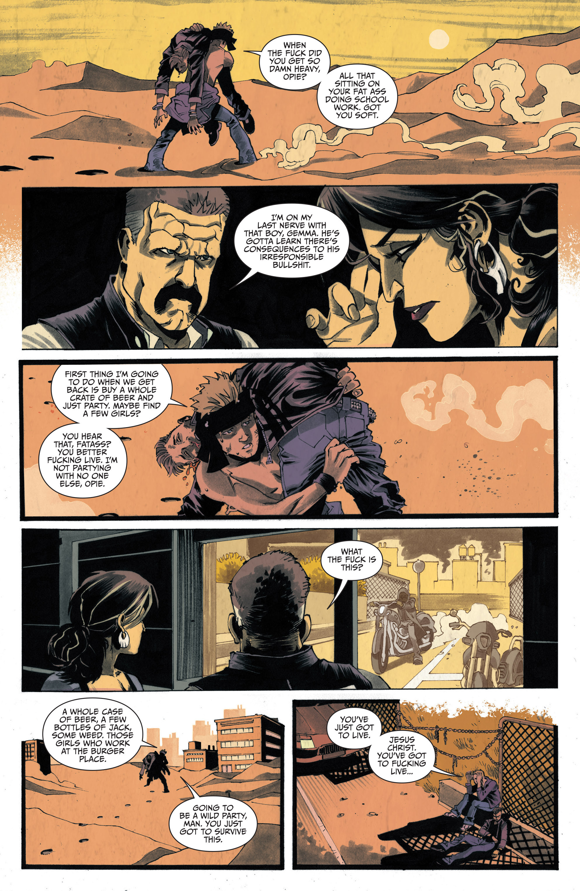 Read online Sons of Anarchy: Redwood Original comic -  Issue #4 - 13