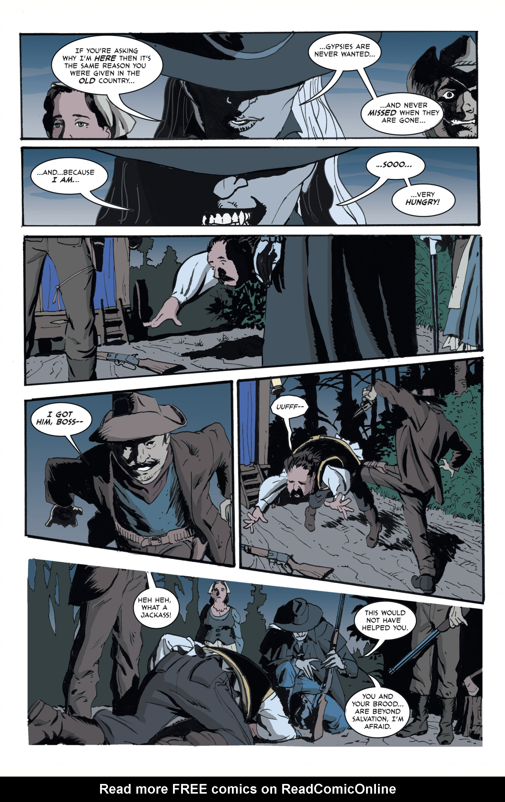 Read online 3 Devils comic -  Issue #1 - 9
