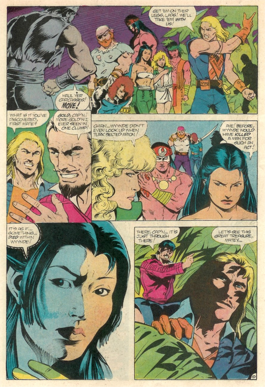 Read online Arion, Lord of Atlantis comic -  Issue #20 - 11