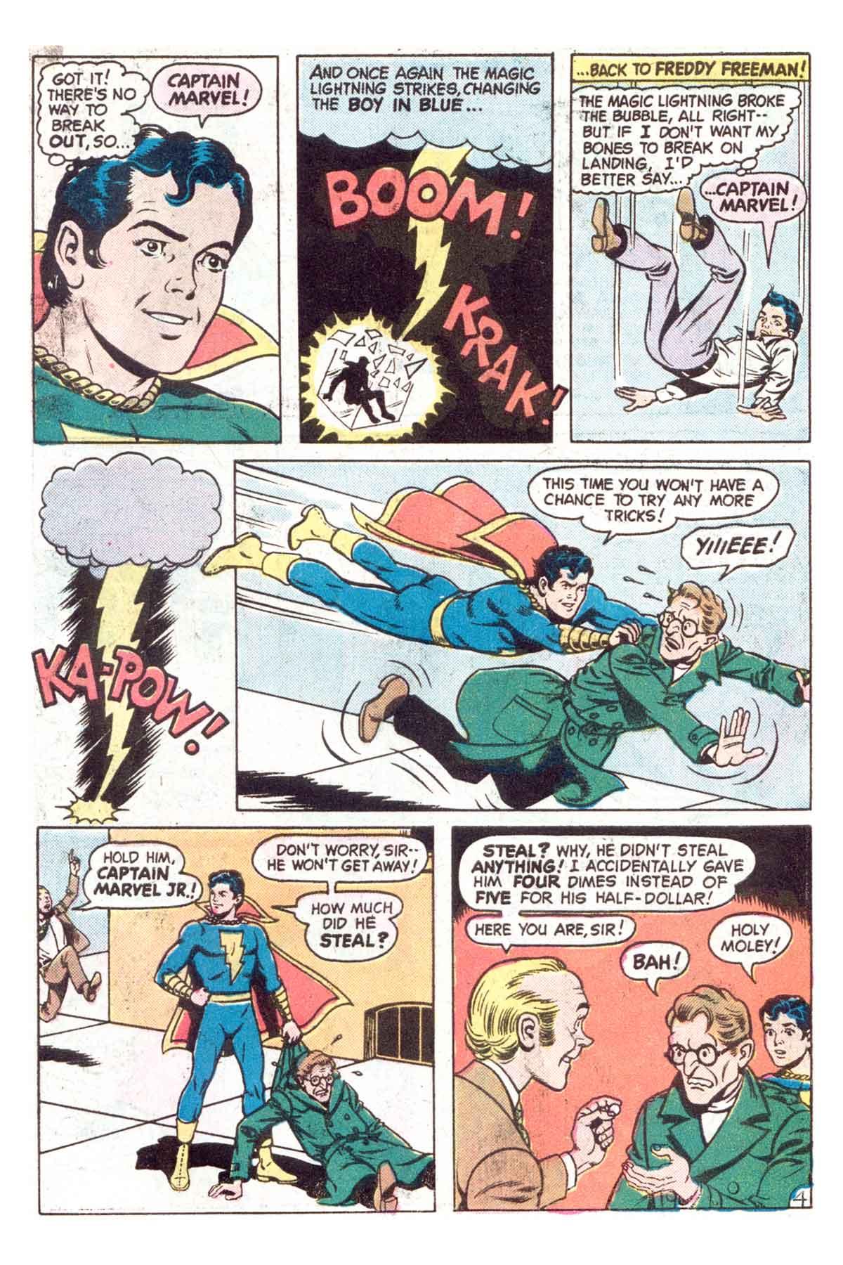 Read online Shazam! (1973) comic -  Issue #18 - 17