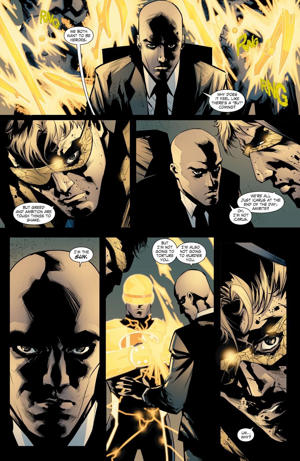 Read online Smallville Season 11 [II] comic -  Issue # TPB 8 - 124