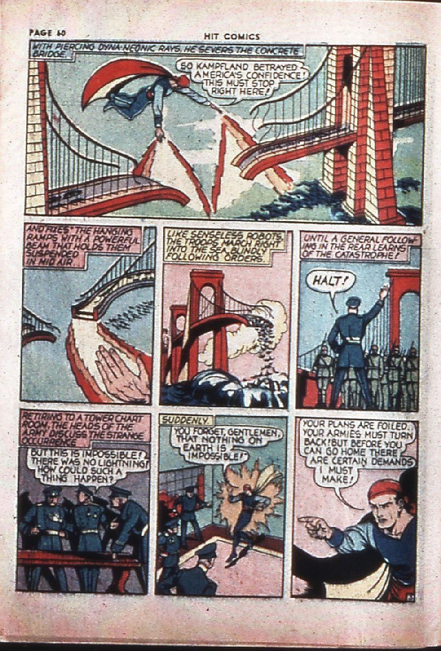 Read online Hit Comics comic -  Issue #4 - 62