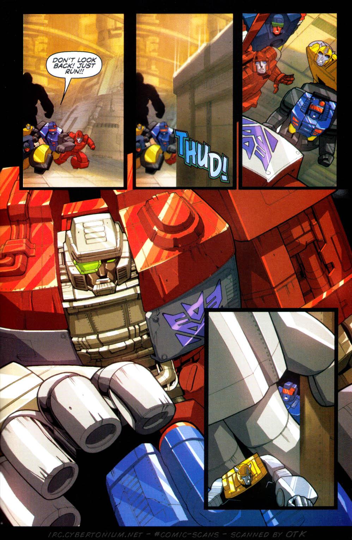 Read online Transformers Armada comic -  Issue #1 - 23