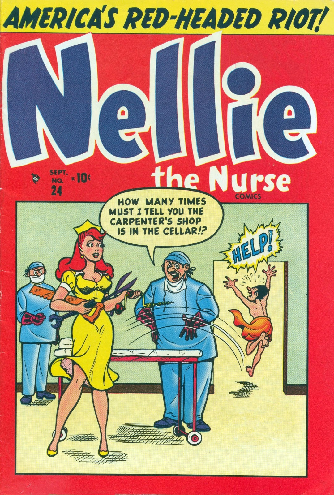 Nellie The Nurse (1945) issue 24 - Page 1