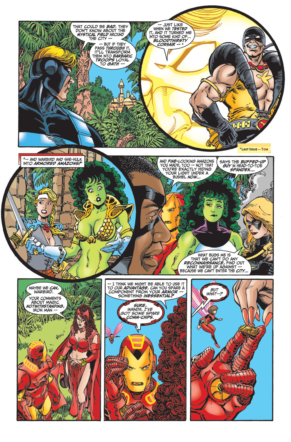 Read online Avengers (1998) comic -  Issue #29 - 8