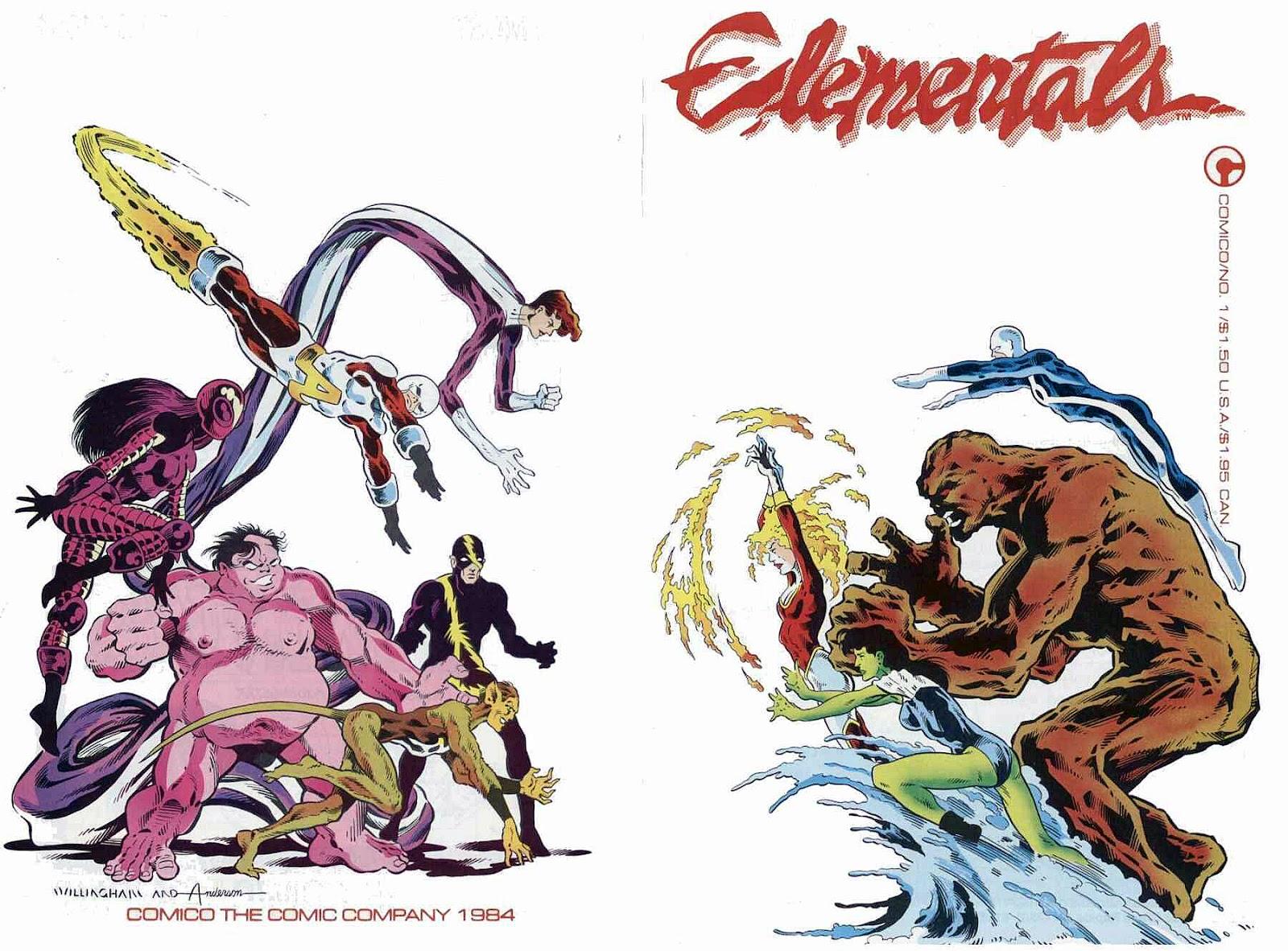 Elementals (1984) issue 1 - Page 1