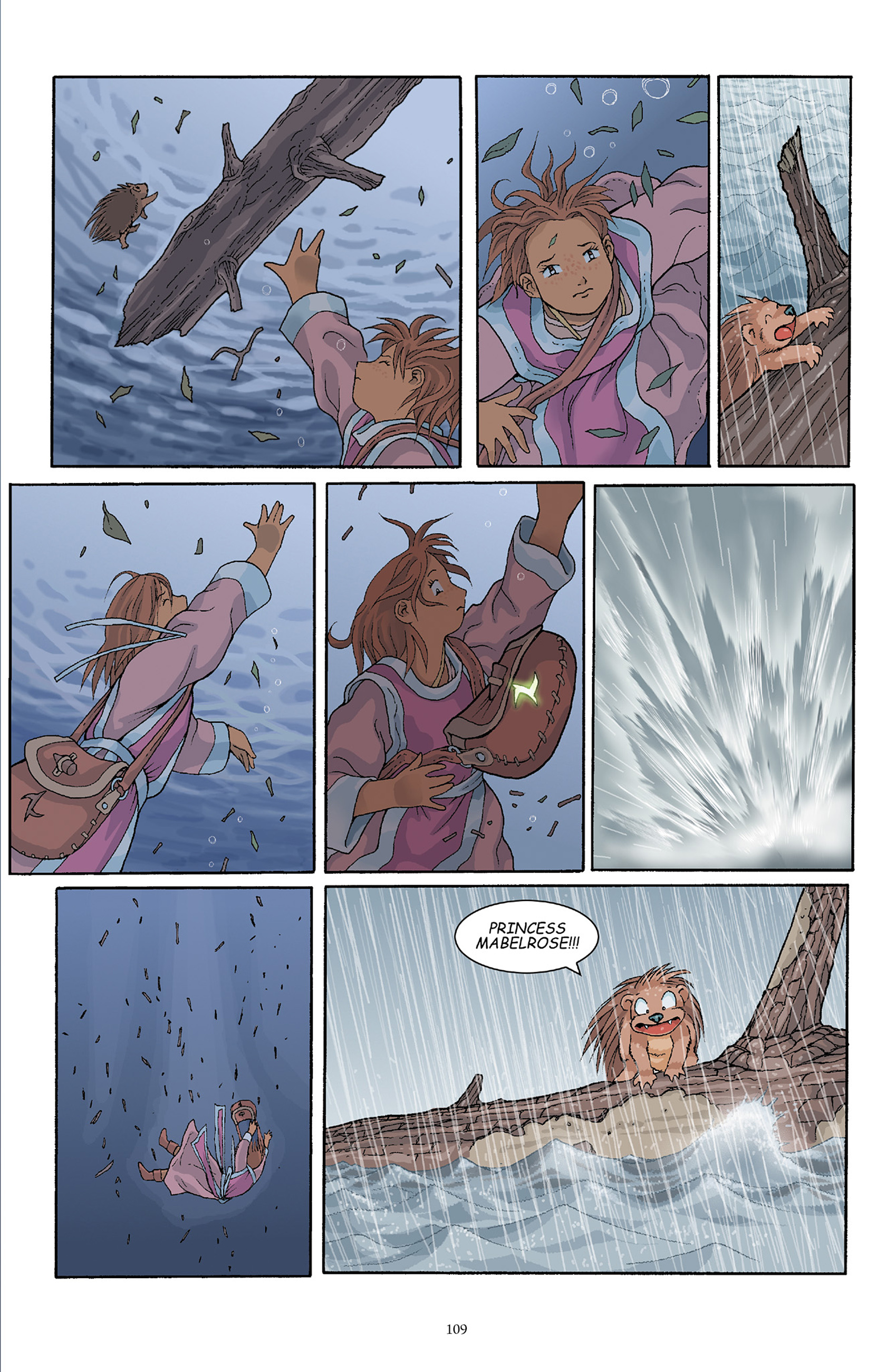 Read online Courageous Princess comic -  Issue # TPB 1 - 108