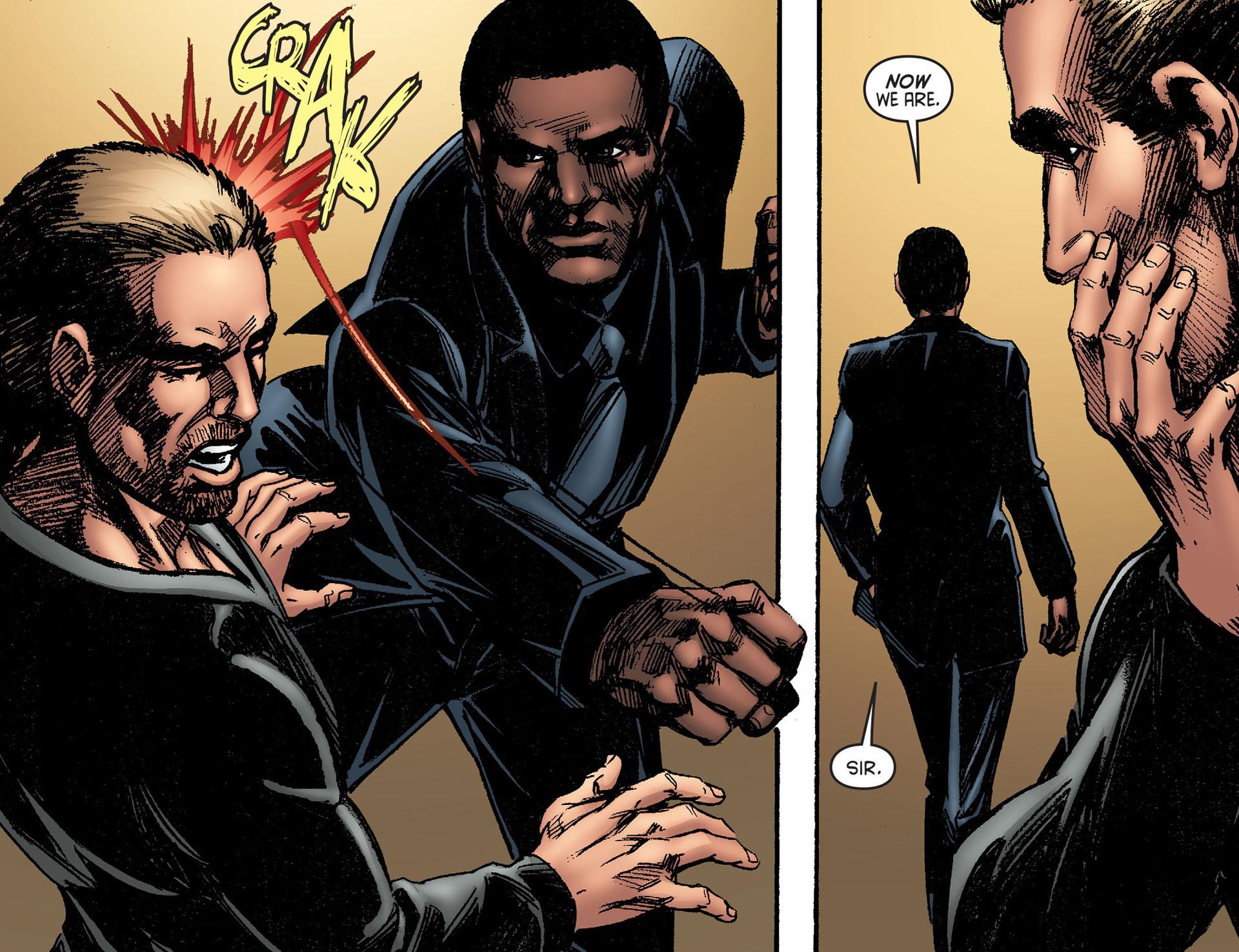 Read online Arrow [II] comic -  Issue #25 - 10