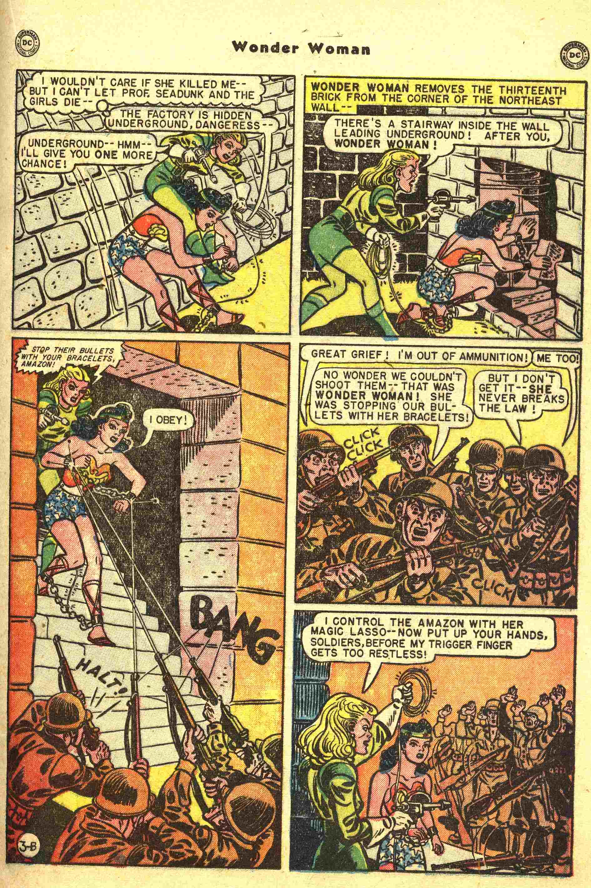 Read online Wonder Woman (1942) comic -  Issue #44 - 16