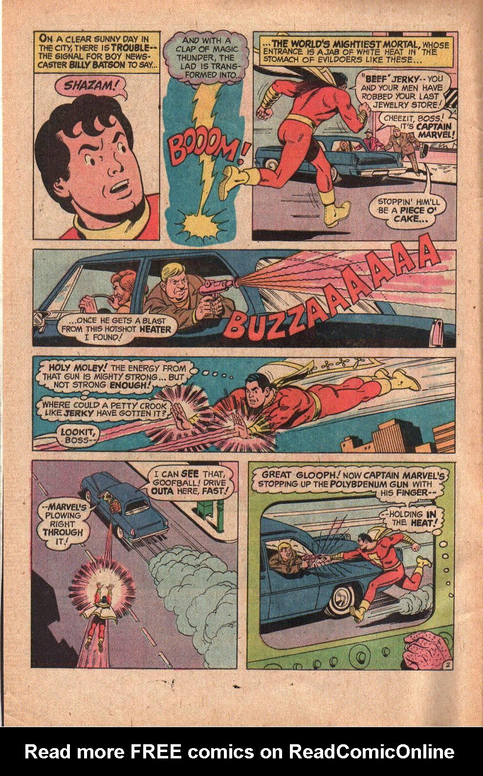 Read online Shazam! (1973) comic -  Issue #19 - 4