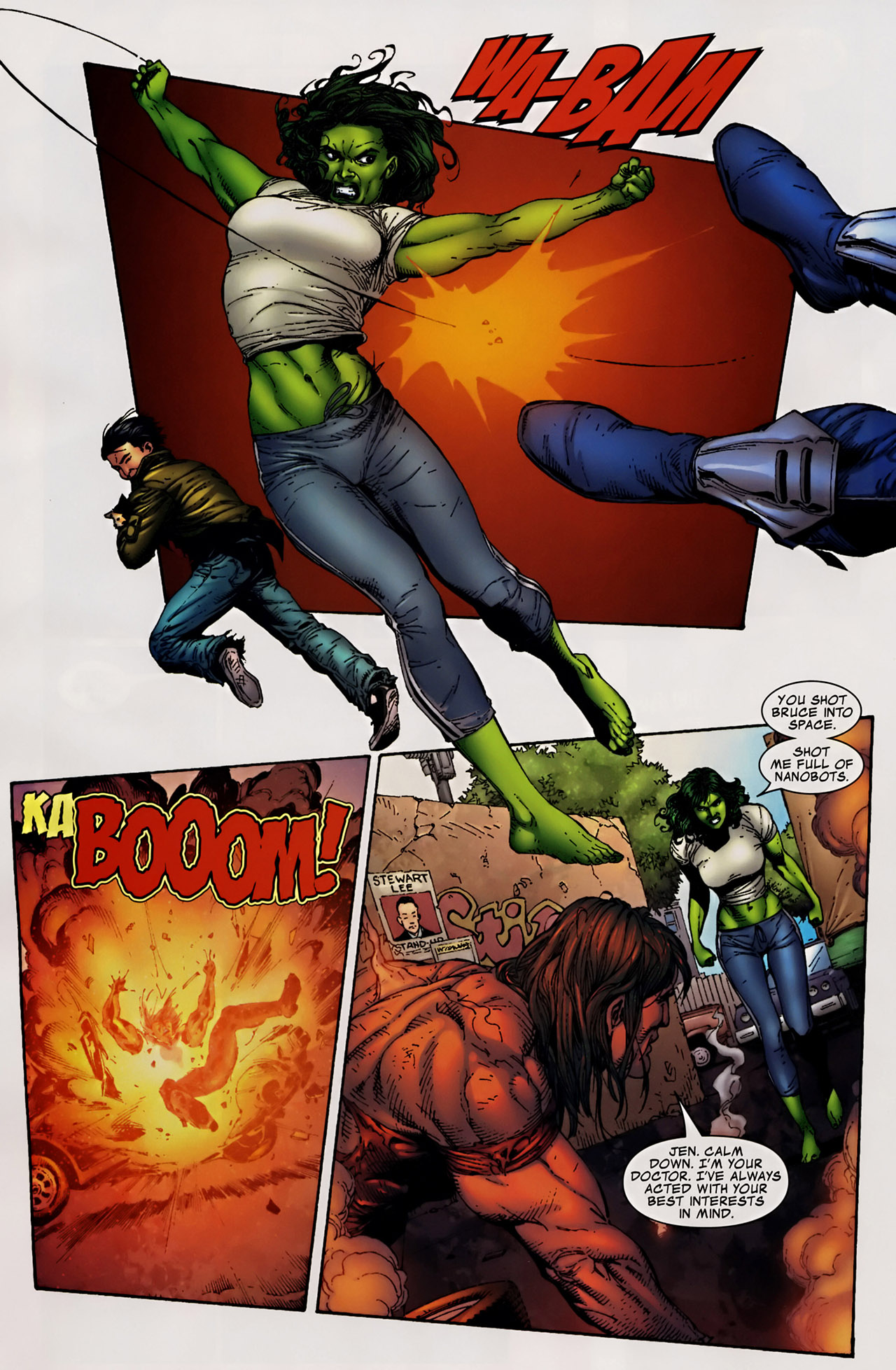 Read online The Incredible Hulk (2000) comic -  Issue #106 - 17