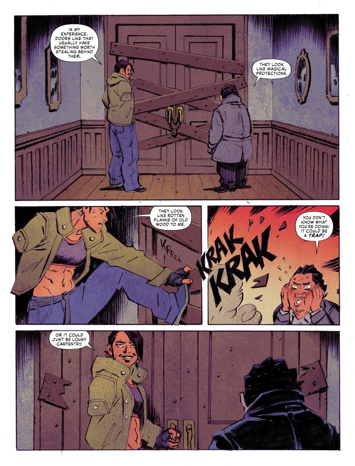 Judge Dredd Megazine (Vol. 5) issue 427 - Page 47