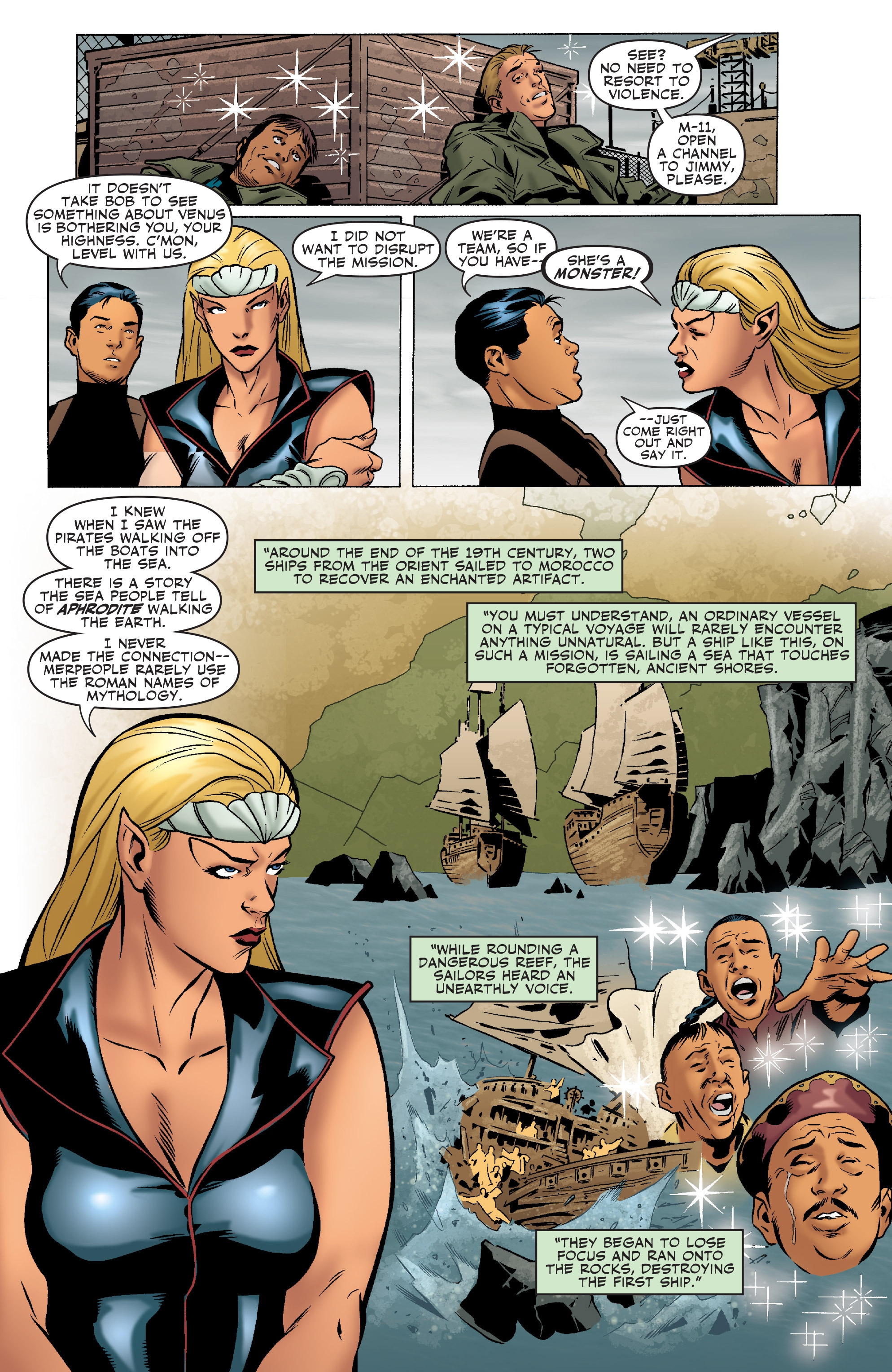 Read online Agents Of Atlas (2006) comic -  Issue #5 - 5