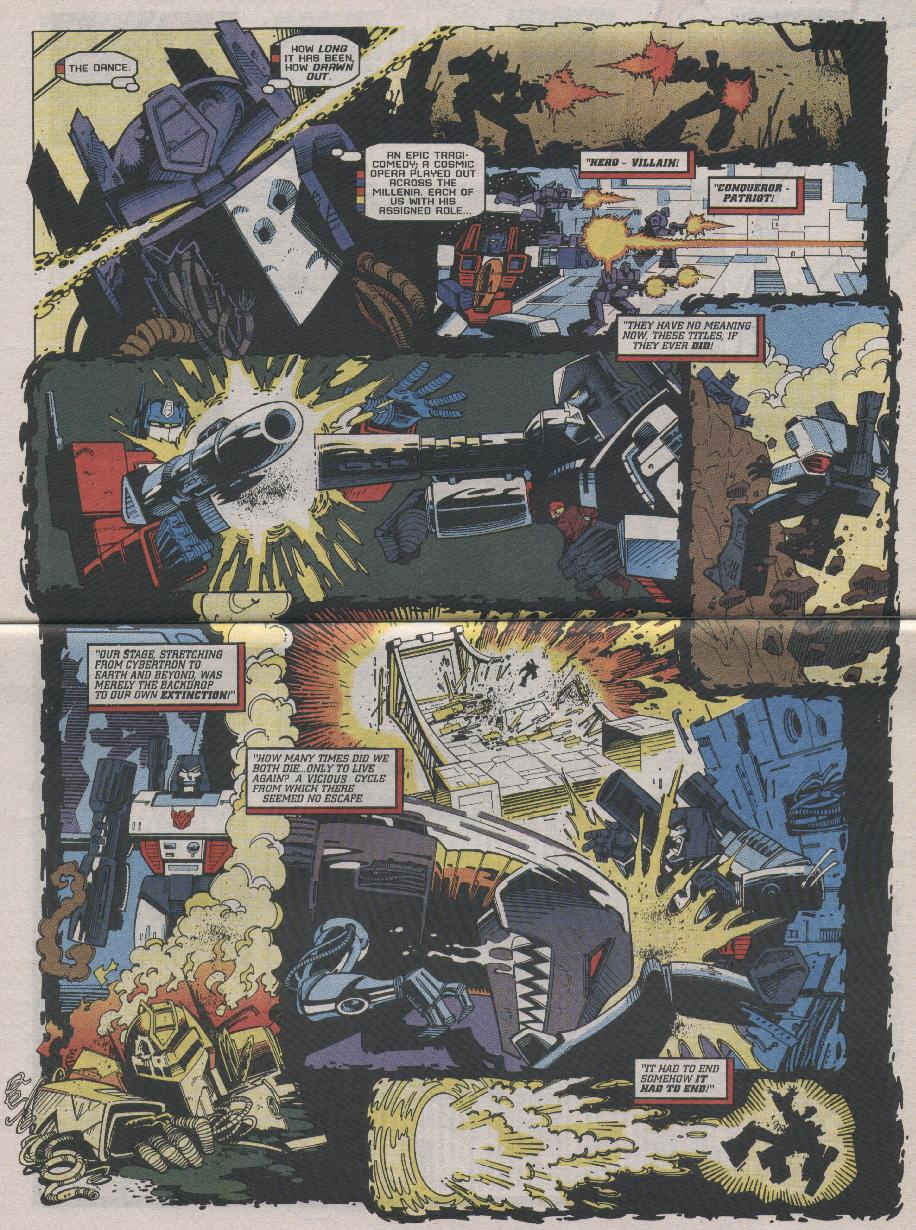 Read online Transformers: Generation 2 comic -  Issue #7 - 20