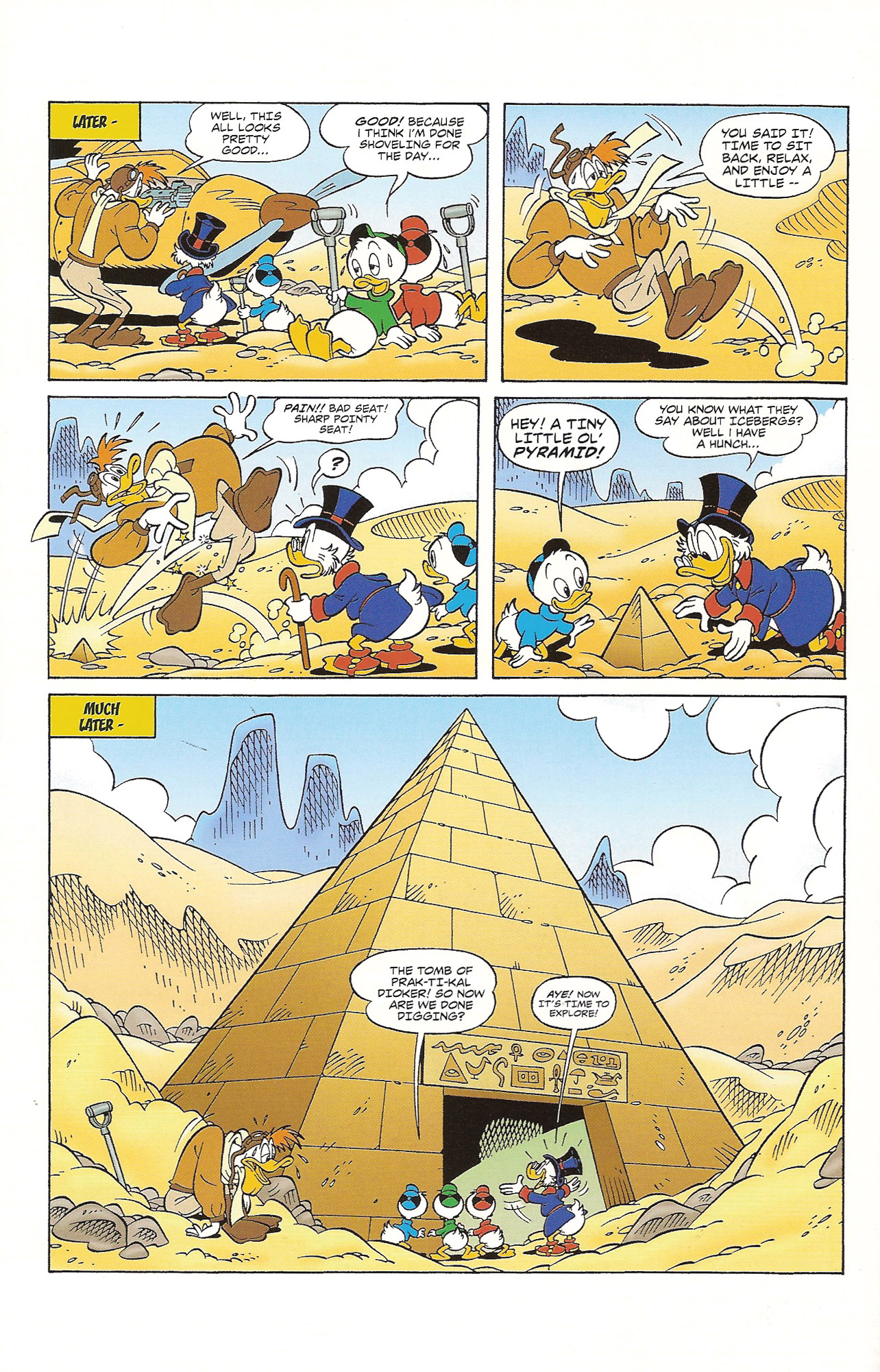 Read online Uncle Scrooge (1953) comic -  Issue #393 - 7