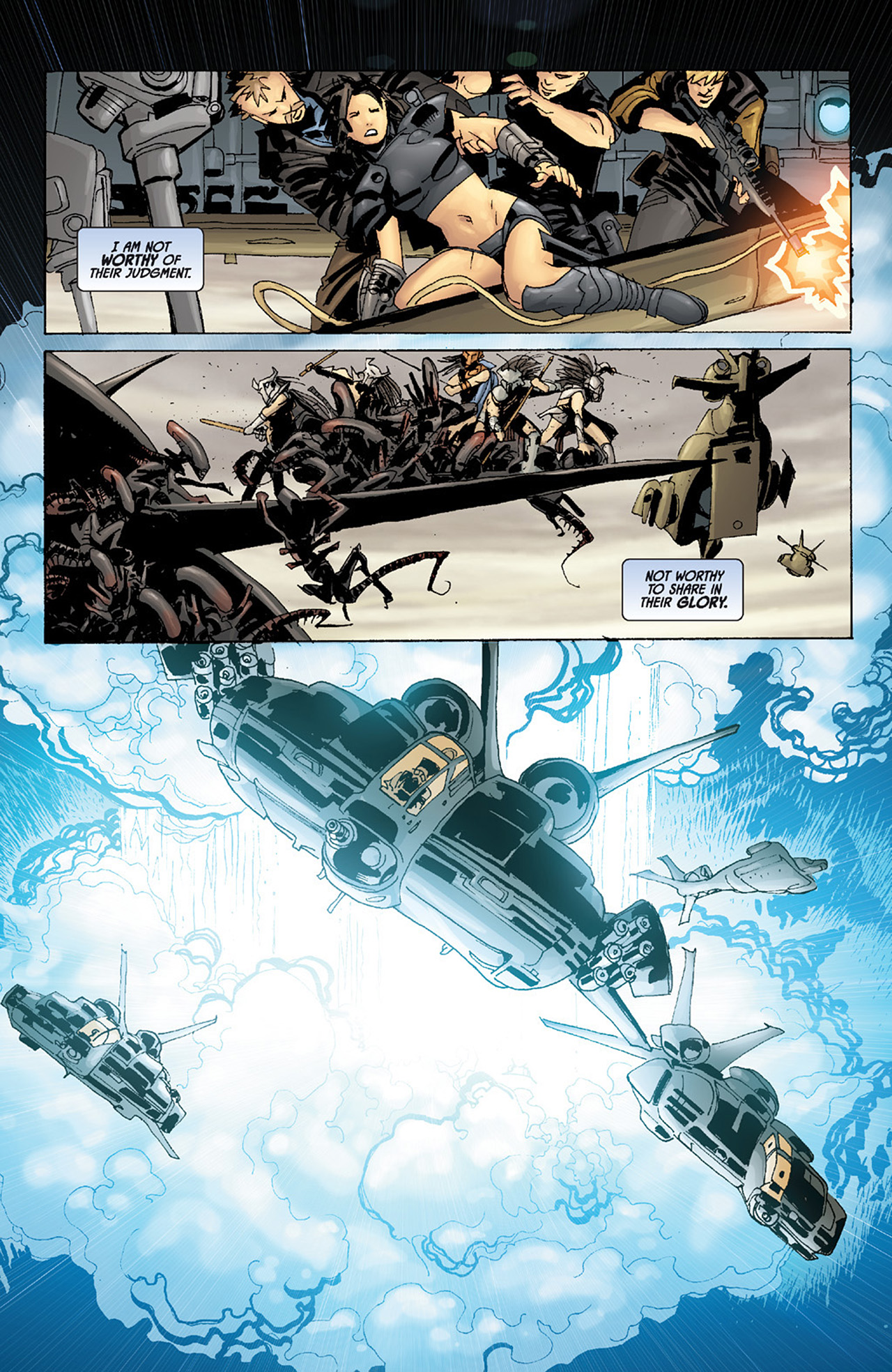 Read online Aliens vs. Predator: Three World War comic -  Issue #6 - 23