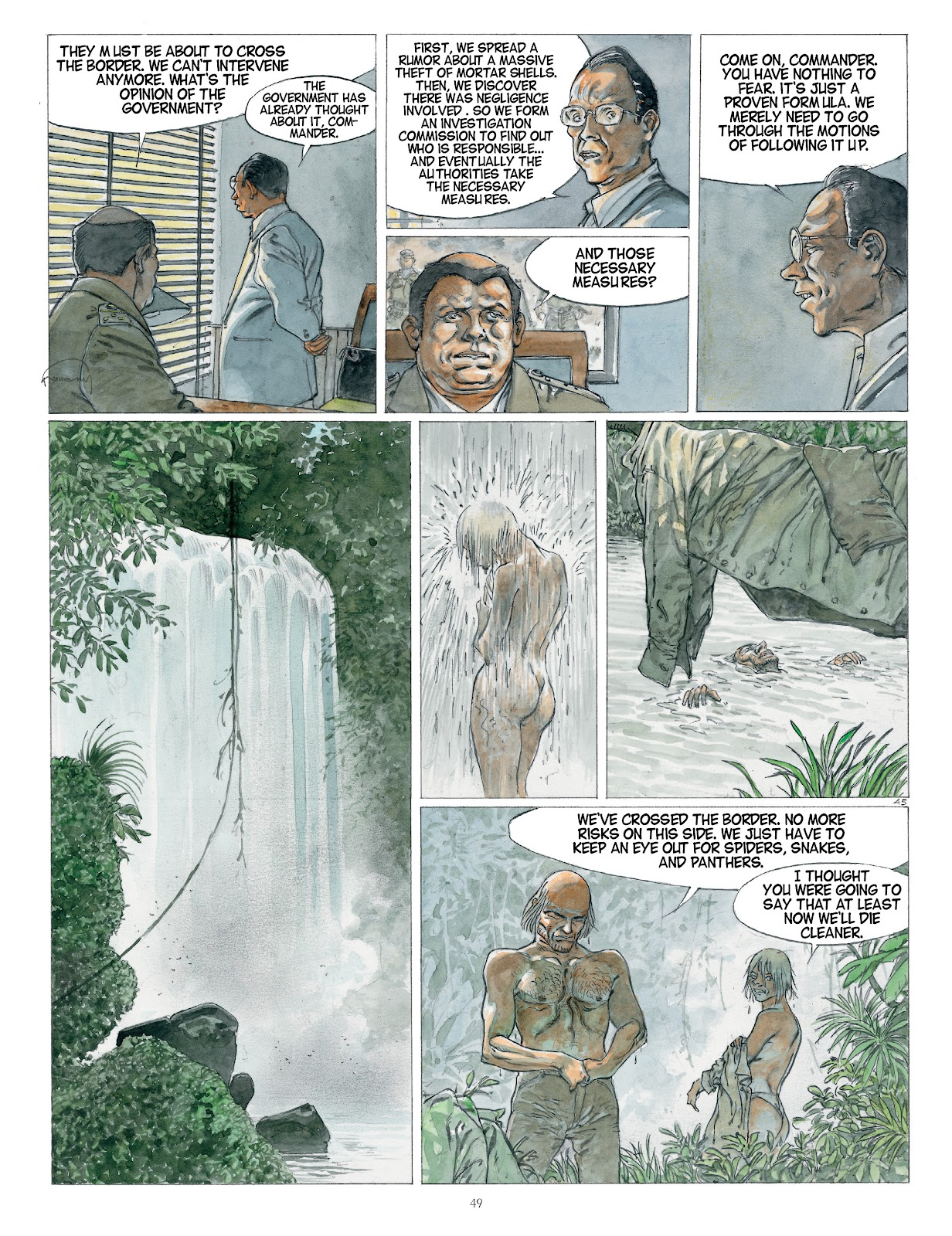 Read online Afrika comic -  Issue # TPB - 49