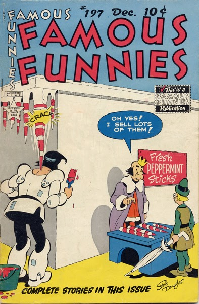 Read online Famous Funnies comic -  Issue #197 - 1