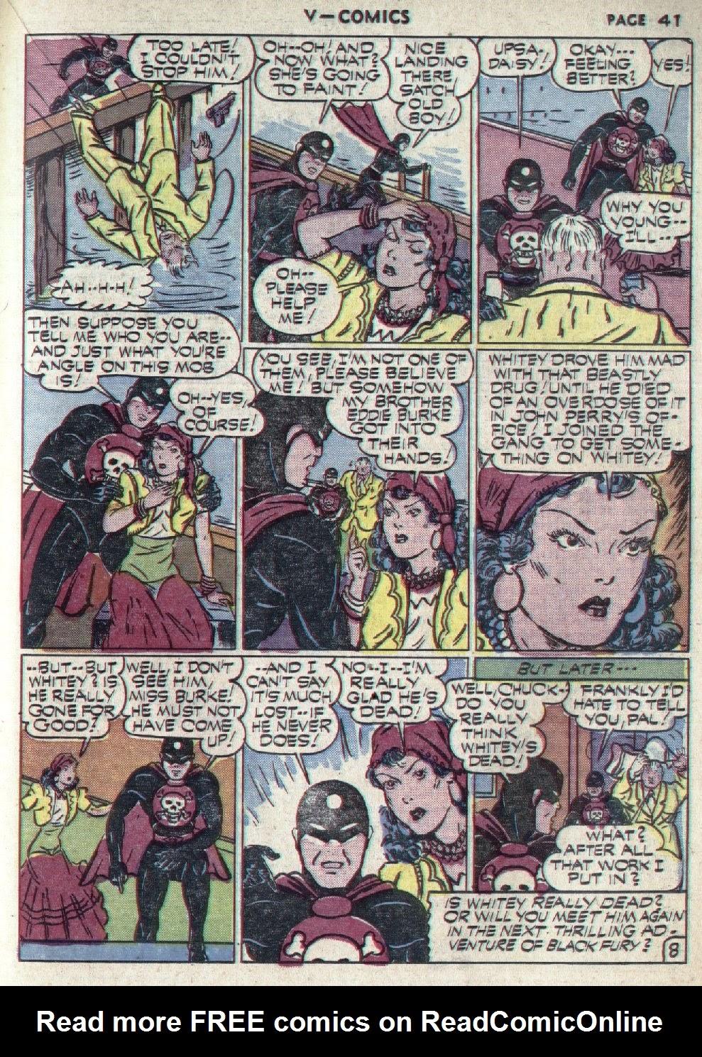 Read online V...- Comics comic -  Issue #1 - 42