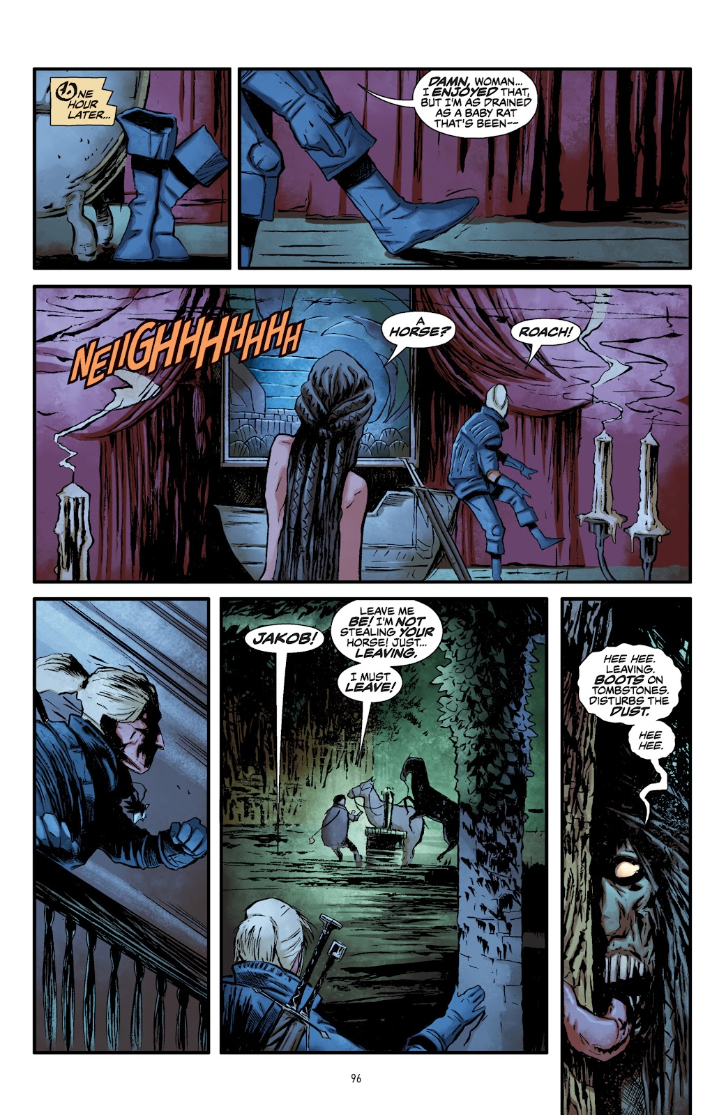 Read online The Witcher Omnibus comic -  Issue # TPB (Part 1) - 94