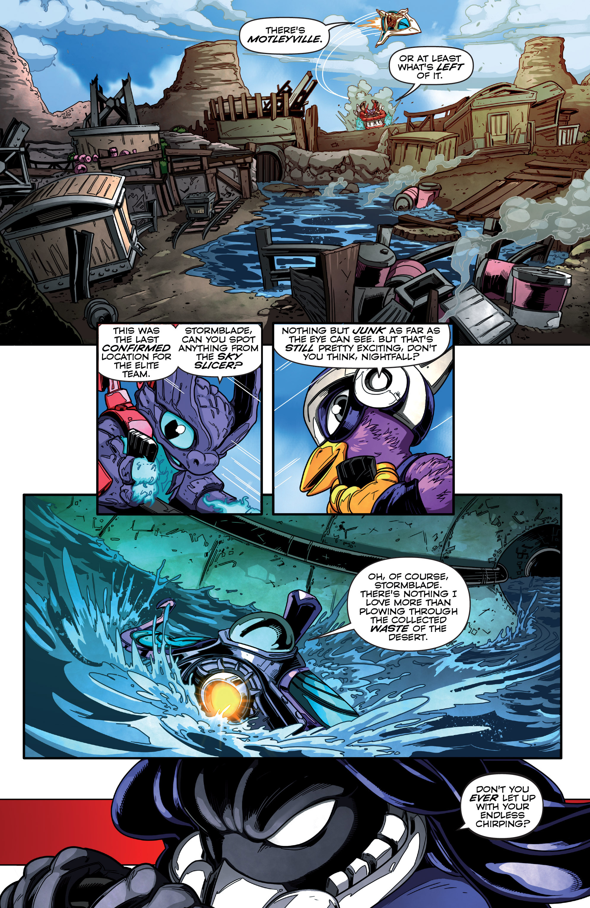 Read online Skylanders Superchargers comic -  Issue #1 - 11
