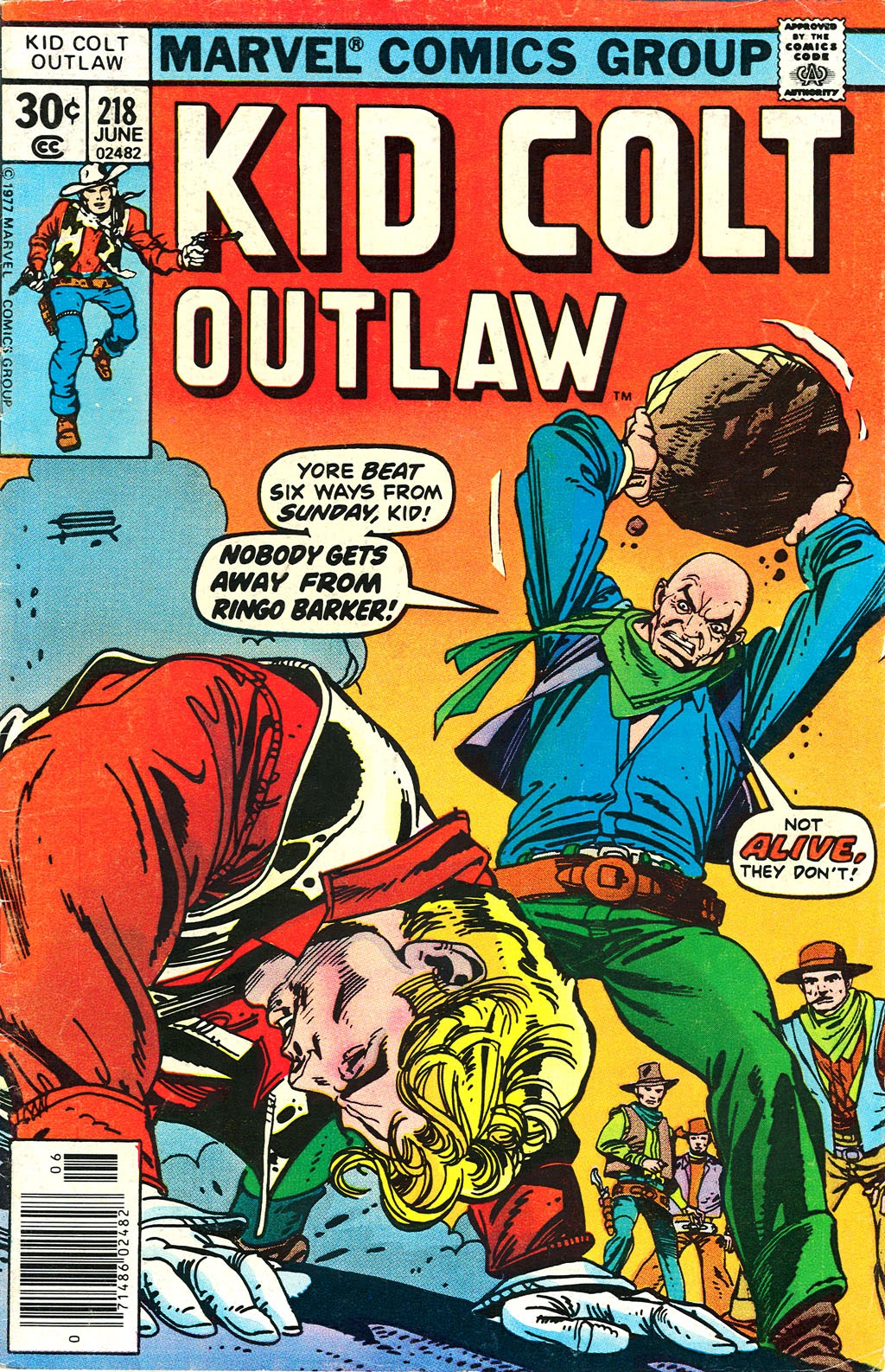 Kid Colt Outlaw issue 218 - Page 1