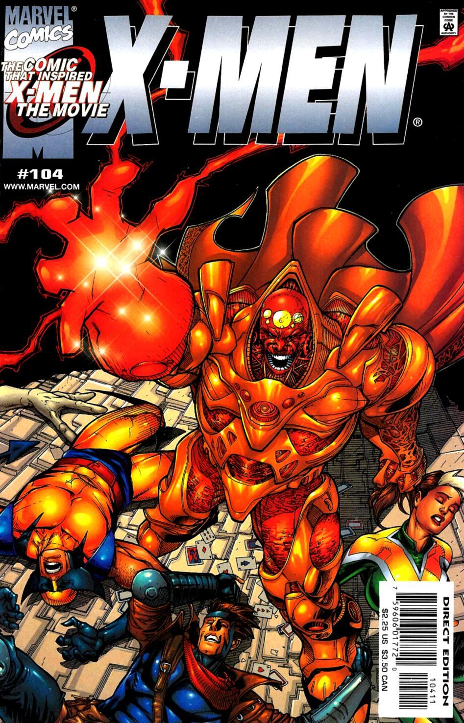 X-Men (1991) 104 Page 0