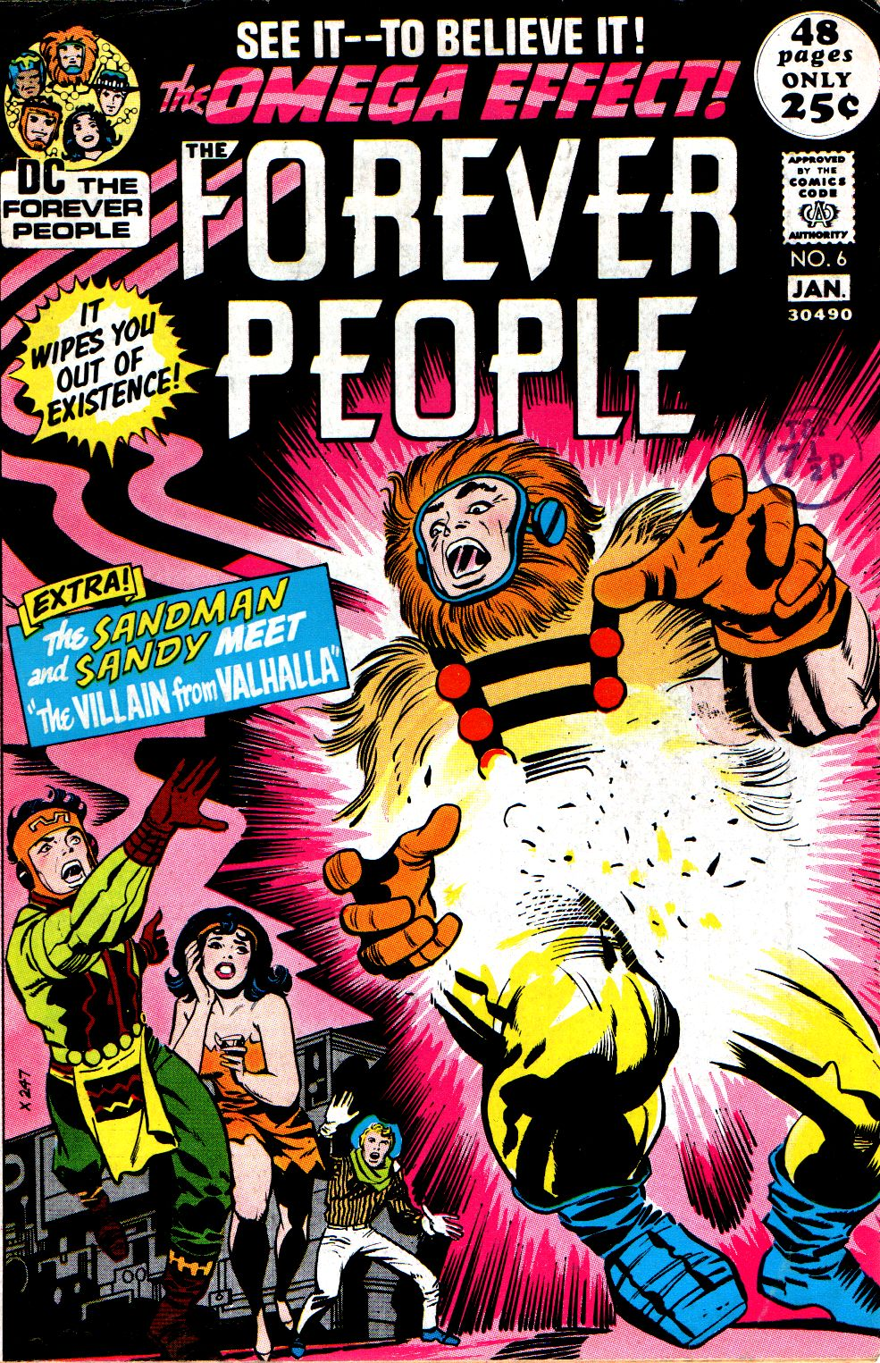 Forever People (1971) issue 6 - Page 1