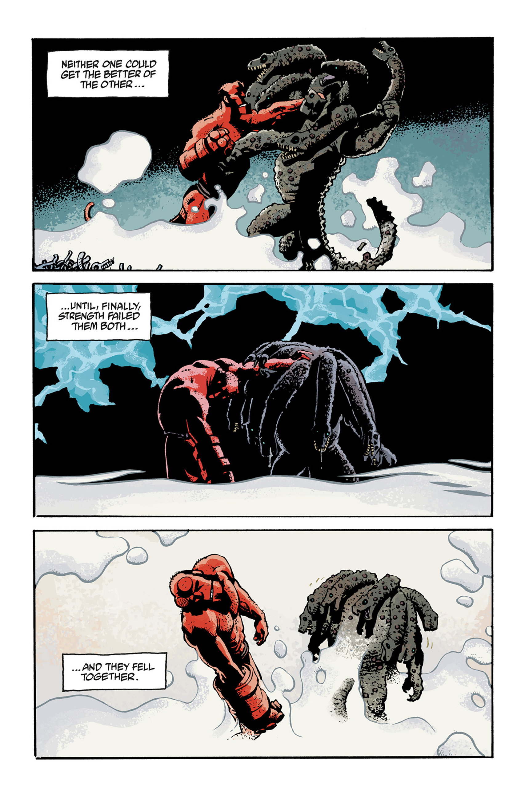 Read online Hellboy: The Troll Witch and Others comic -  Issue # TPB - 126