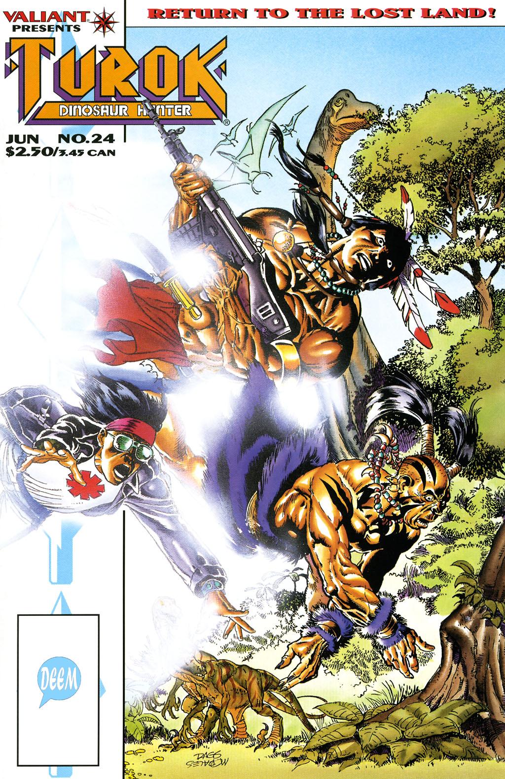 Read online Turok, Dinosaur Hunter (1993) comic -  Issue #24 - 1