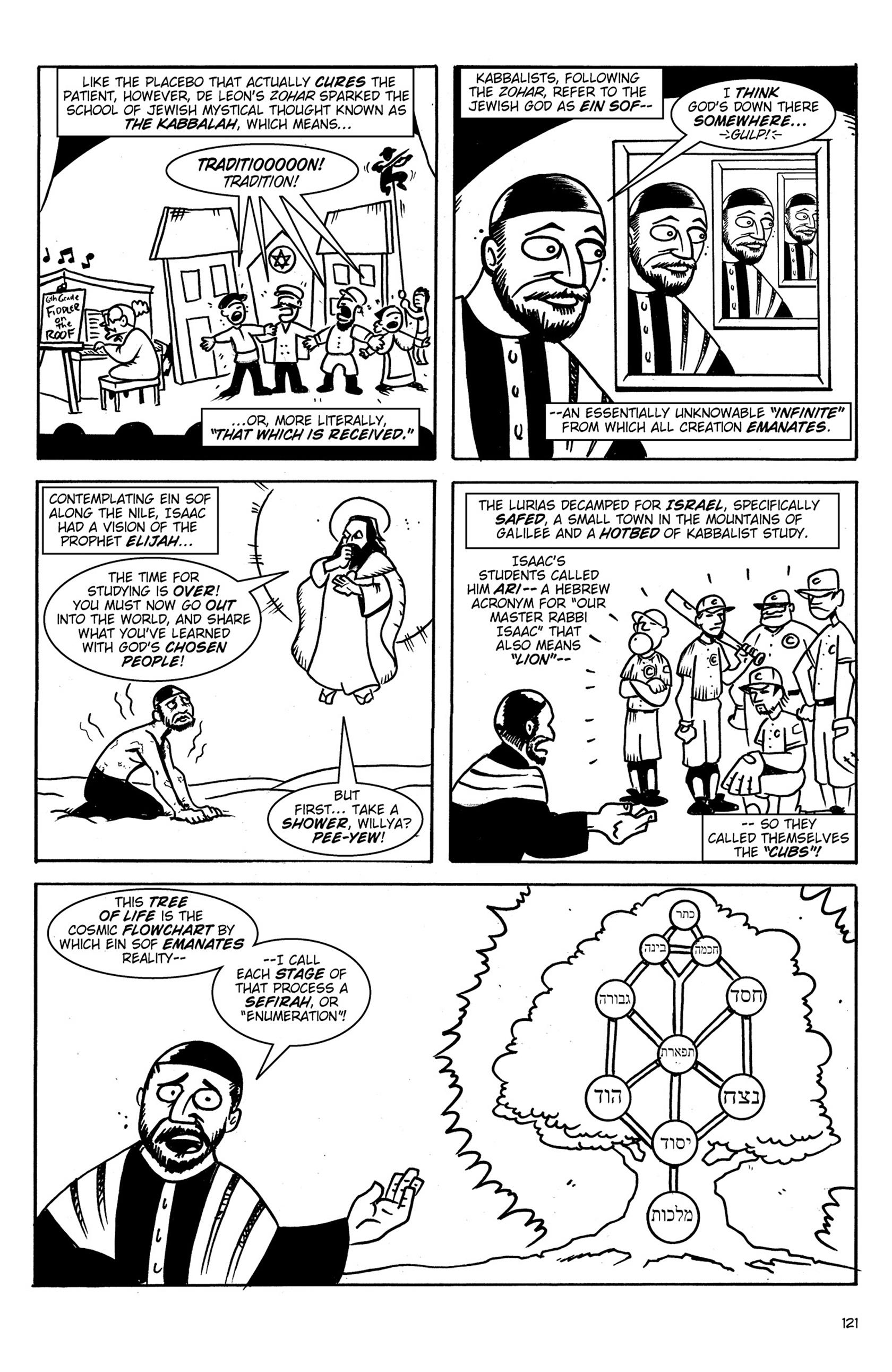 Read online Action Philosophers! comic -  Issue #Action Philosophers! TPB (Part 1) - 121