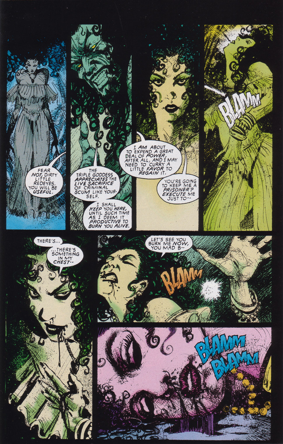 Read online Druid comic -  Issue #4 - 15