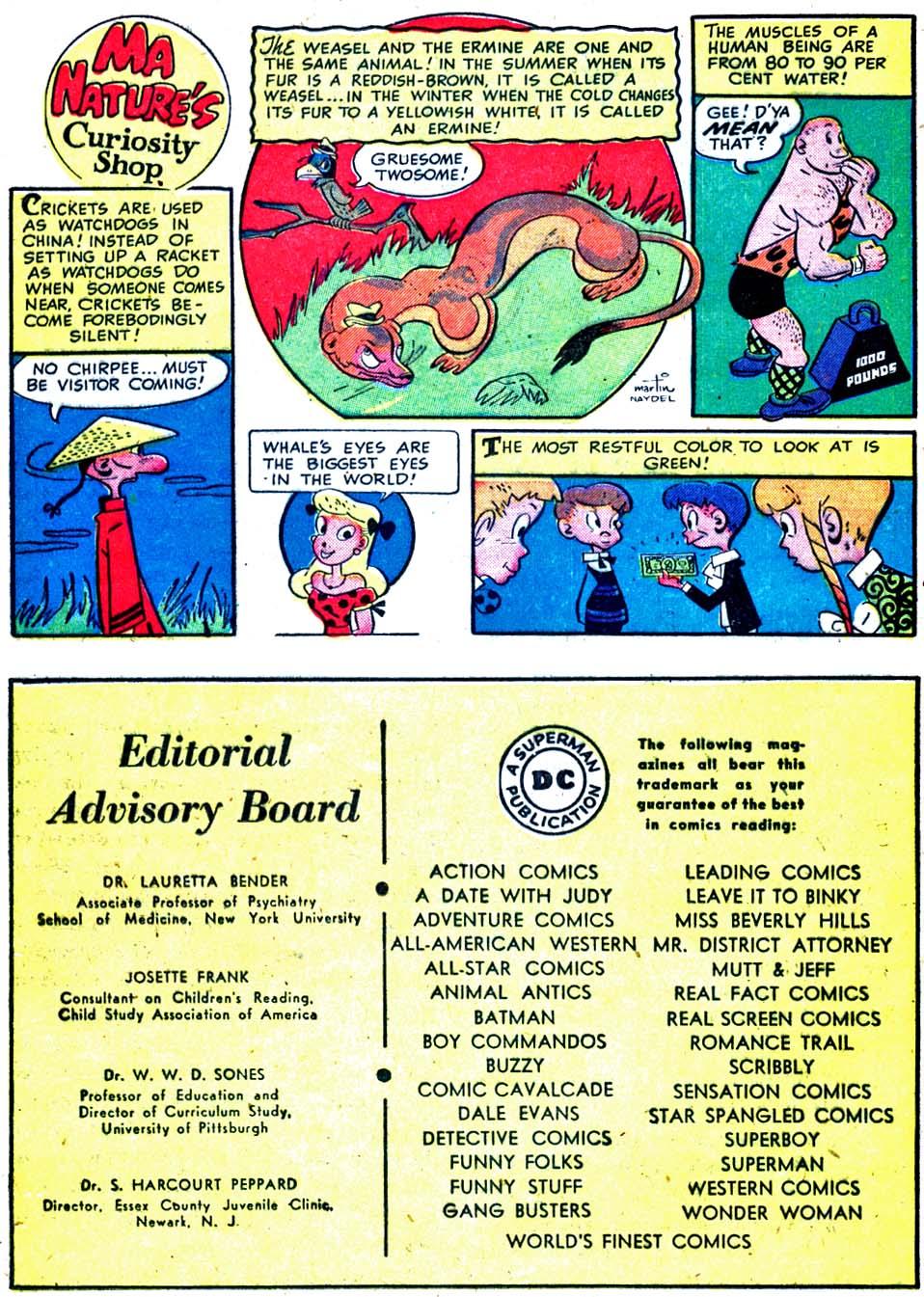 Read online Sensation (Mystery) Comics comic -  Issue #91 - 34