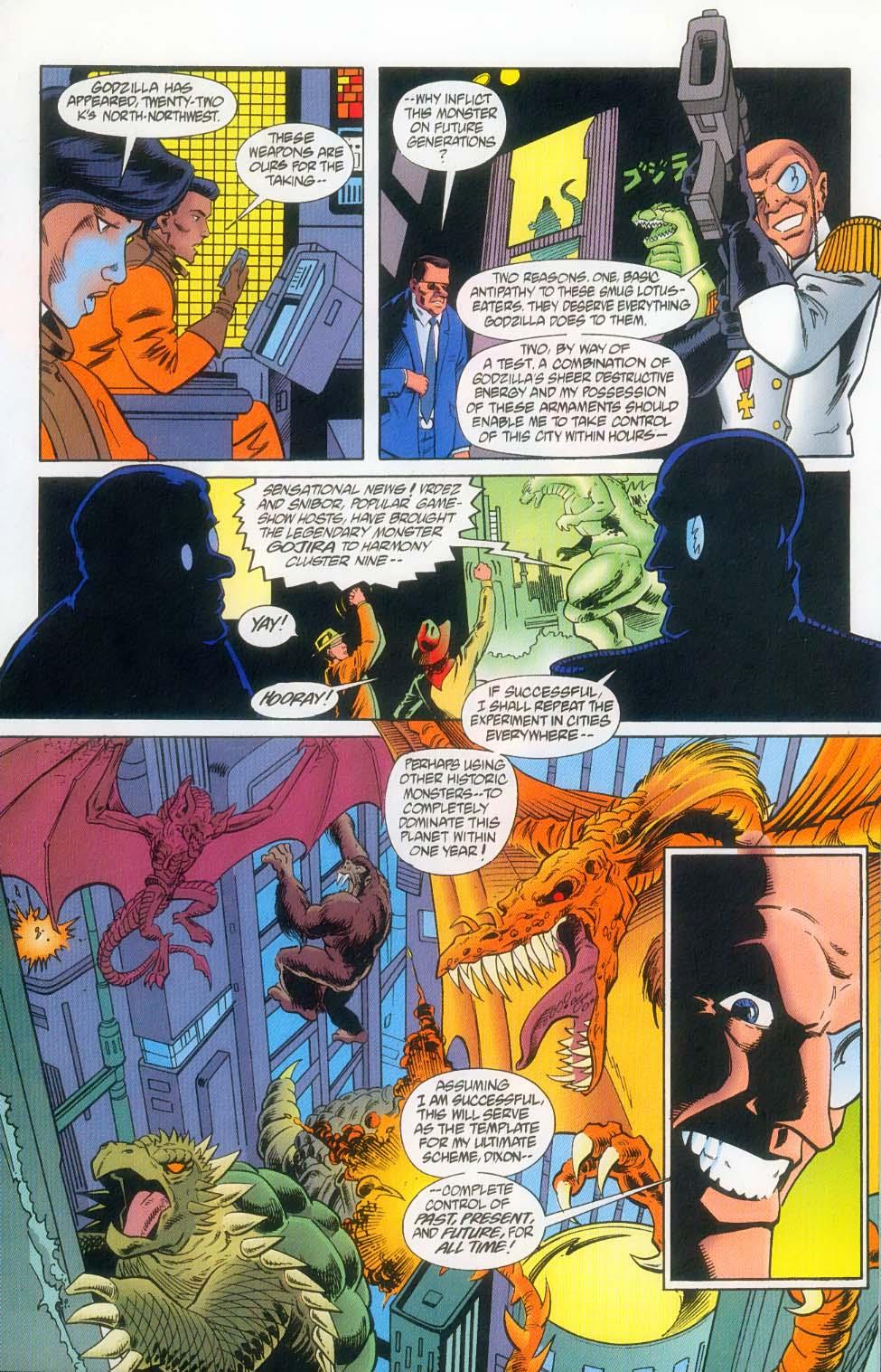 Godzilla (1995) Issue #12 #13 - English 14