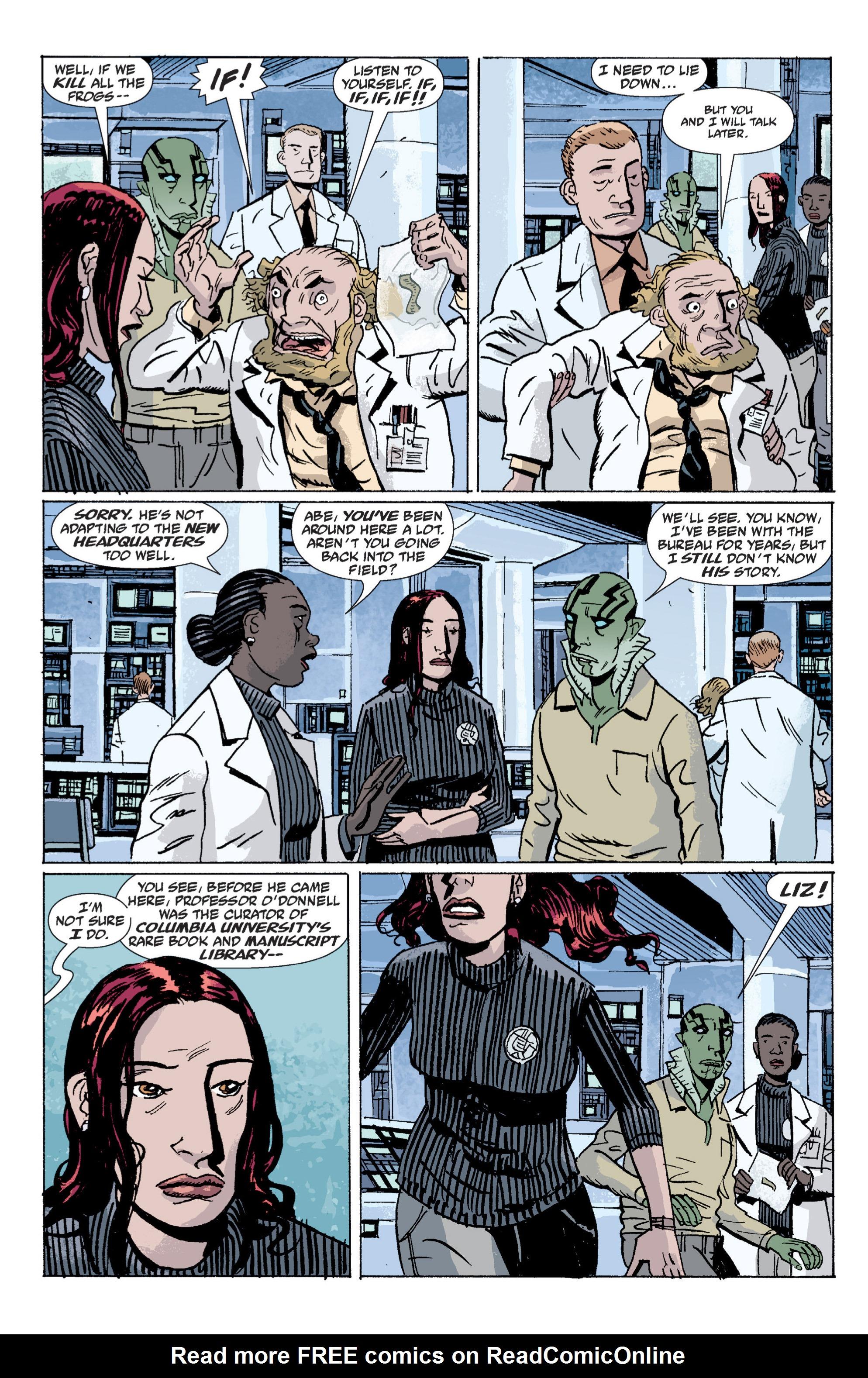 Read online B.P.R.D. (2003) comic -  Issue # TPB 5 - 73