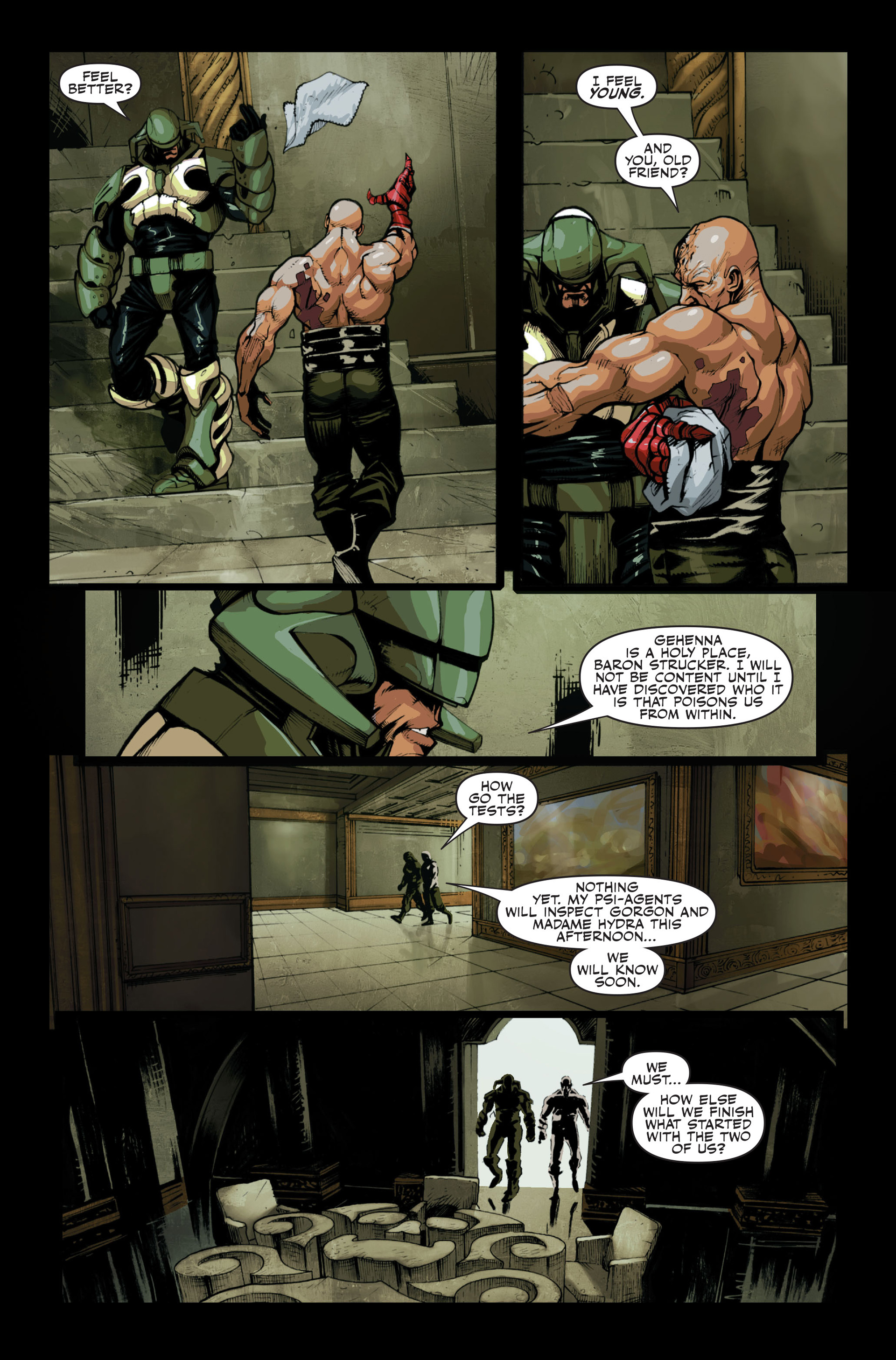 Read online Secret Warriors comic -  Issue #13 - 14