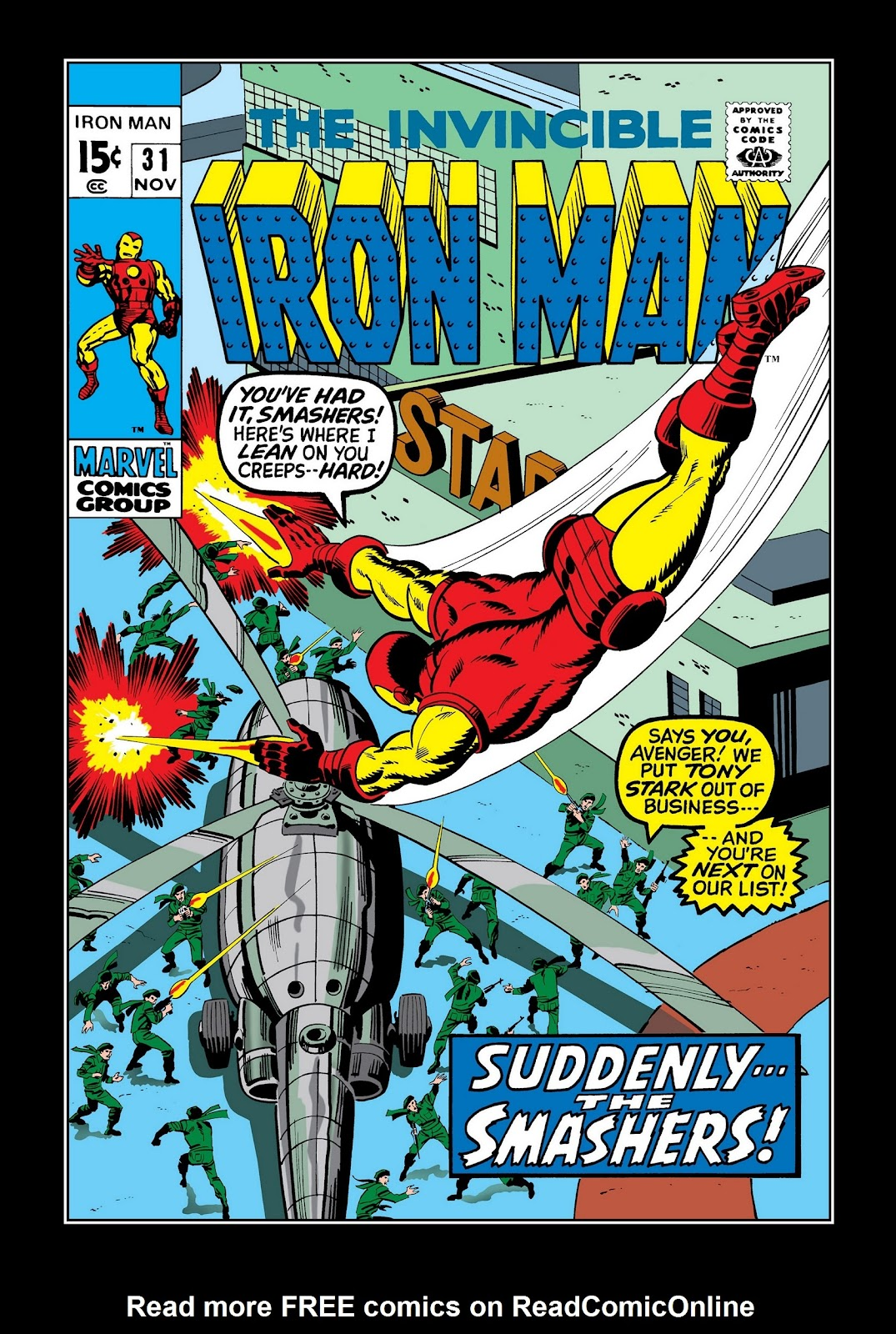 Read online Marvel Masterworks: The Invincible Iron Man comic -  Issue # TPB 7 (Part 2) - 9
