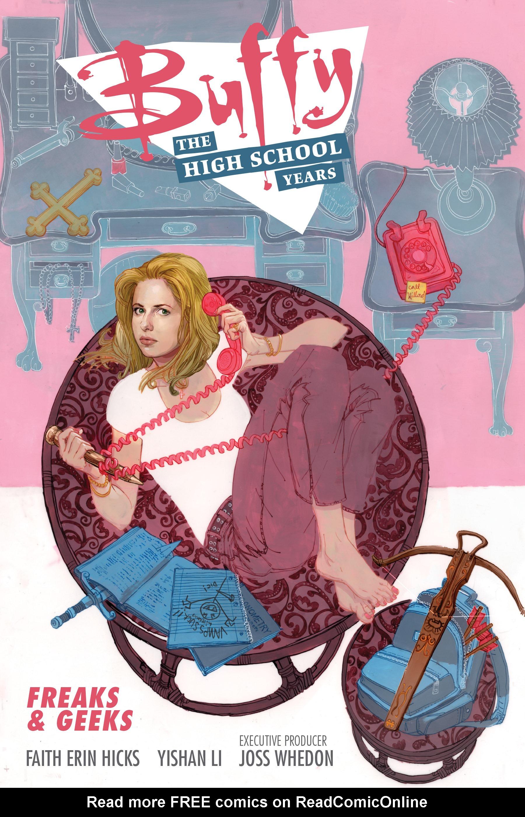 Buffy: The High School Years - Freaks & Geeks Full Page 1