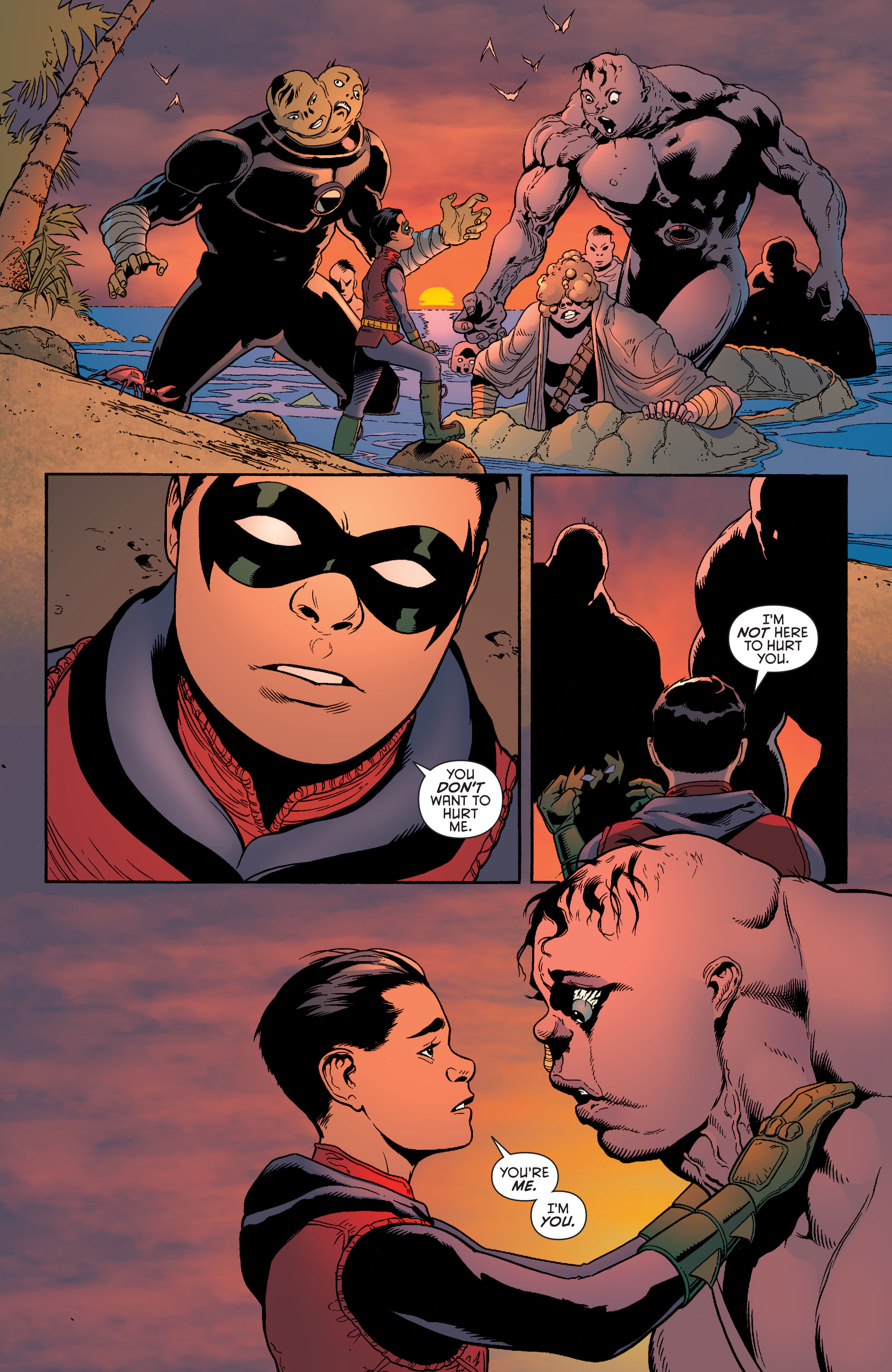 Read online Batman and Robin (2011) comic -  Issue #38 - 20