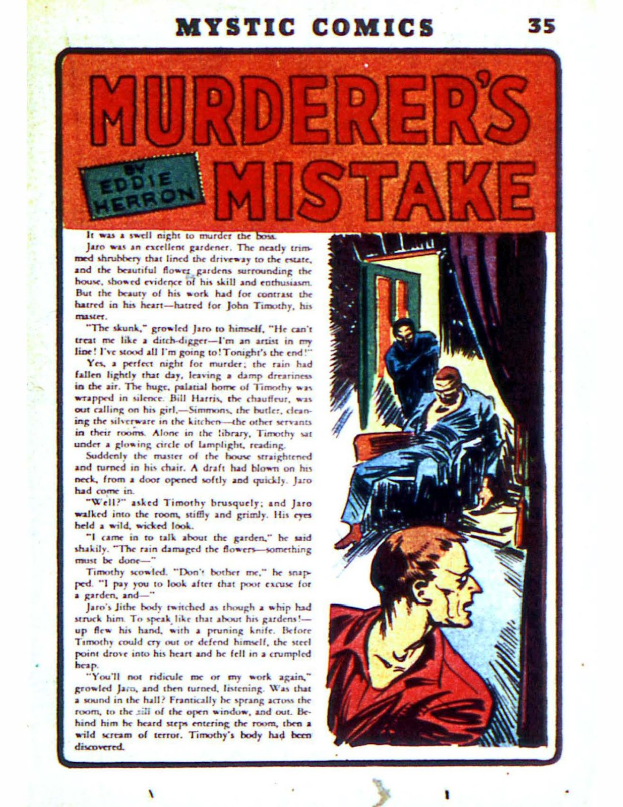 Mystic Comics (1940) issue 2 - Page 37
