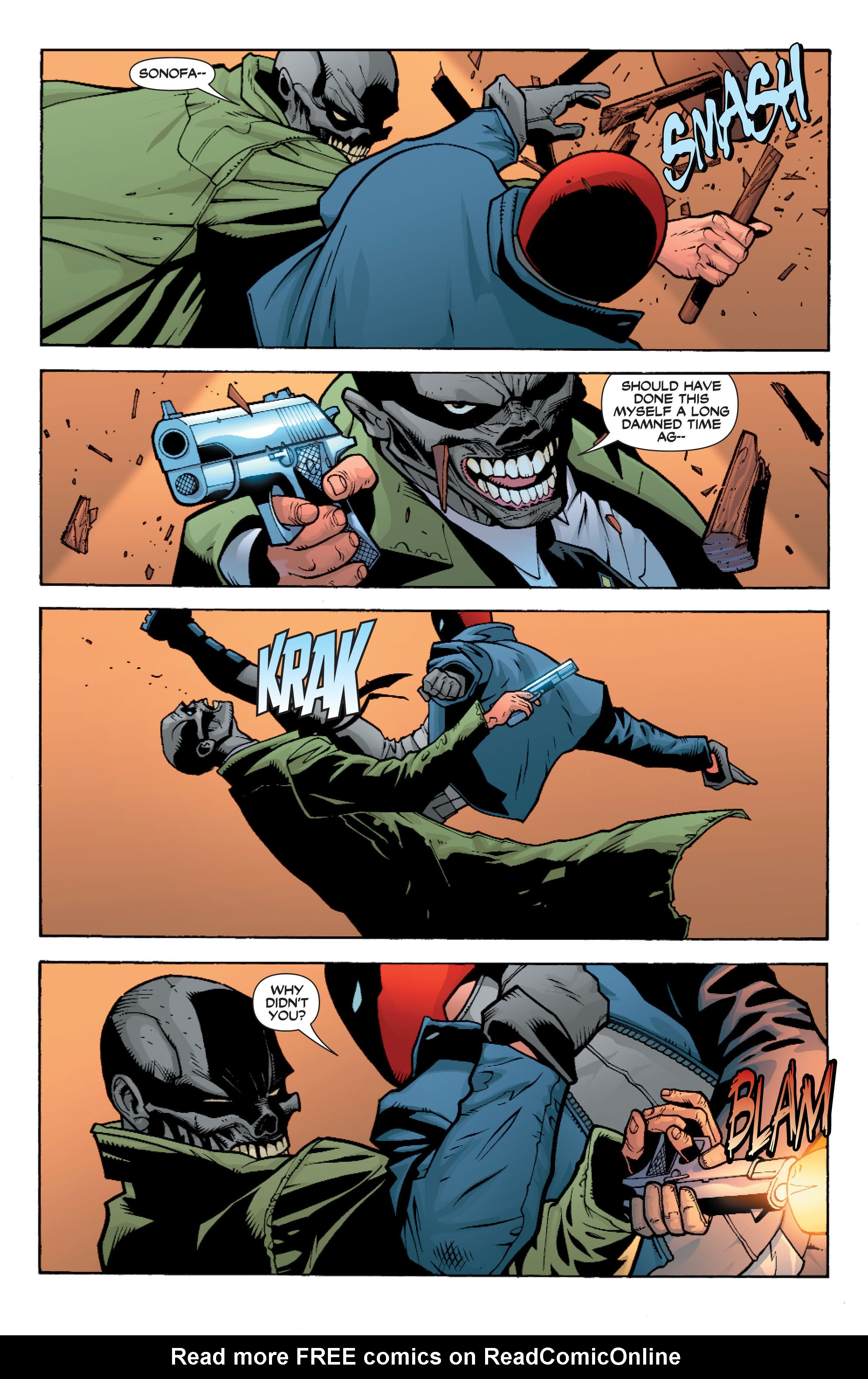 Read online Batman: Under The Red Hood comic -  Issue # Full - 259