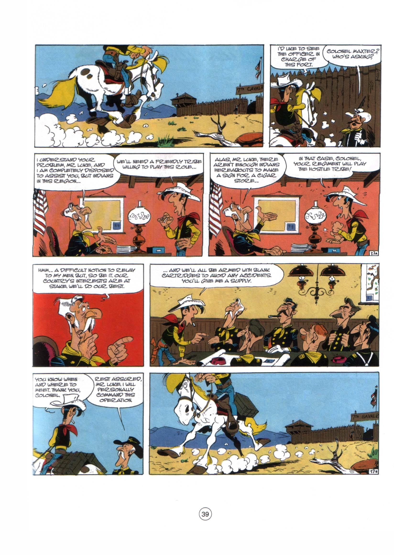 A Lucky Luke Adventure 29 Page 37