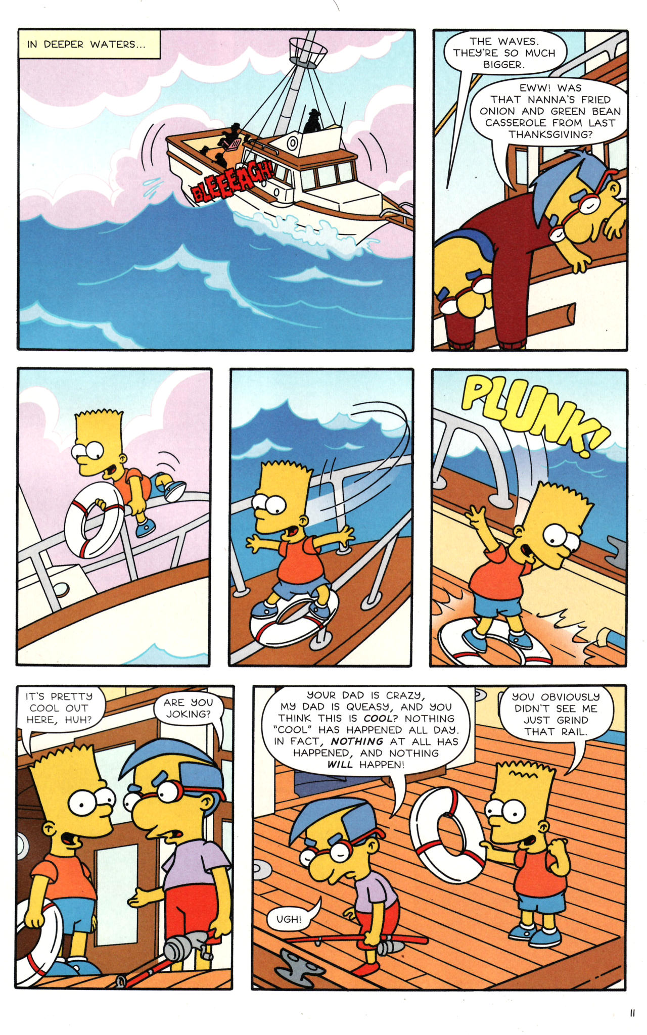 Read online Simpsons Comics comic -  Issue #135 - 10