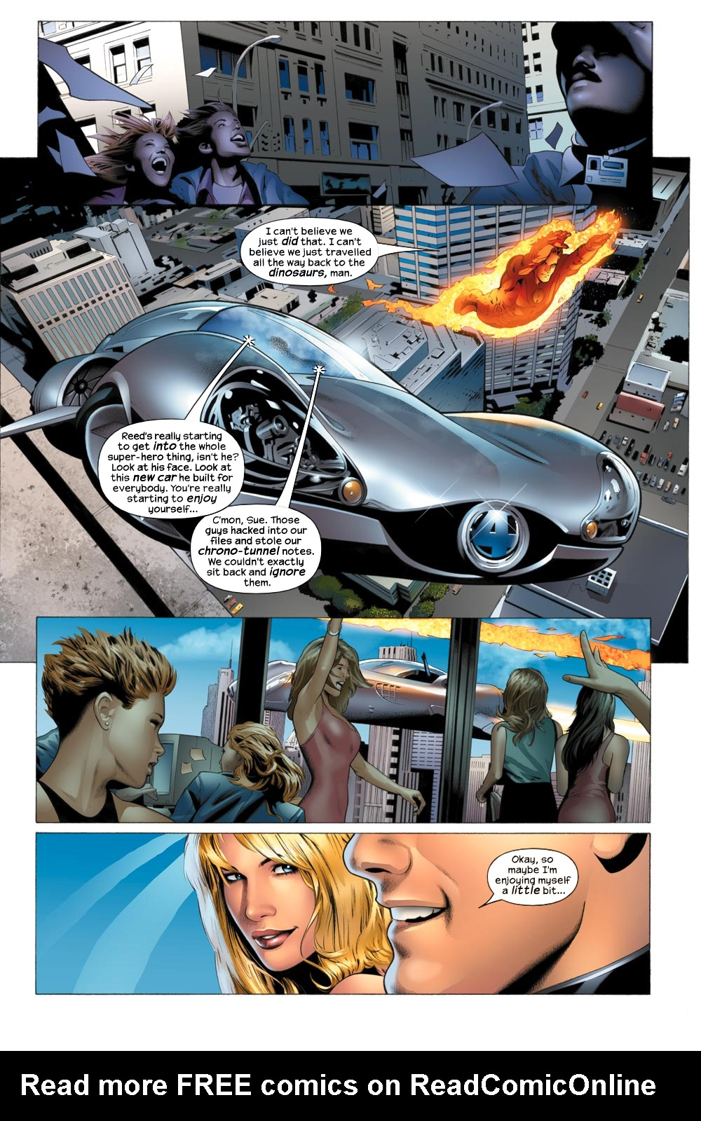 Read online Ultimate Fantastic Four (2004) comic -  Issue #21 - 10