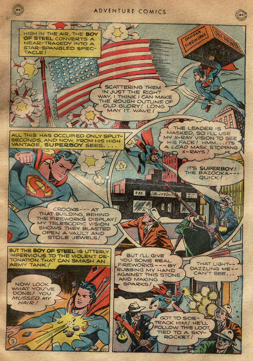 Read online Adventure Comics (1938) comic -  Issue #145 - 7