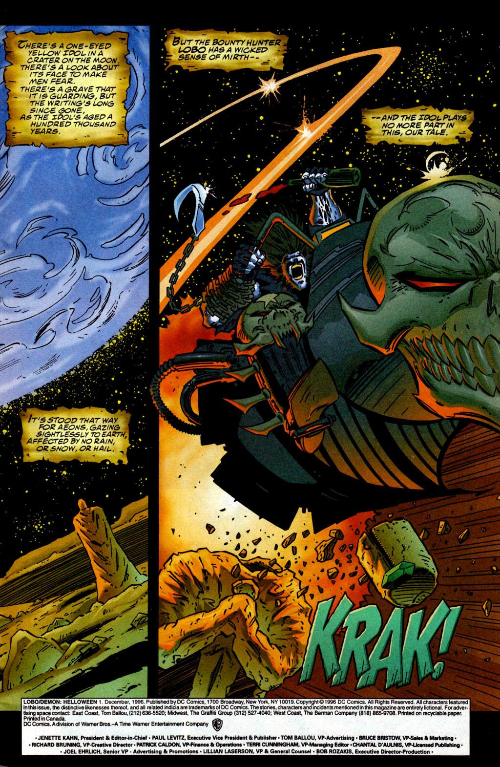 Read online Lobo/Demon: Hellowe'en comic -  Issue # Full - 2