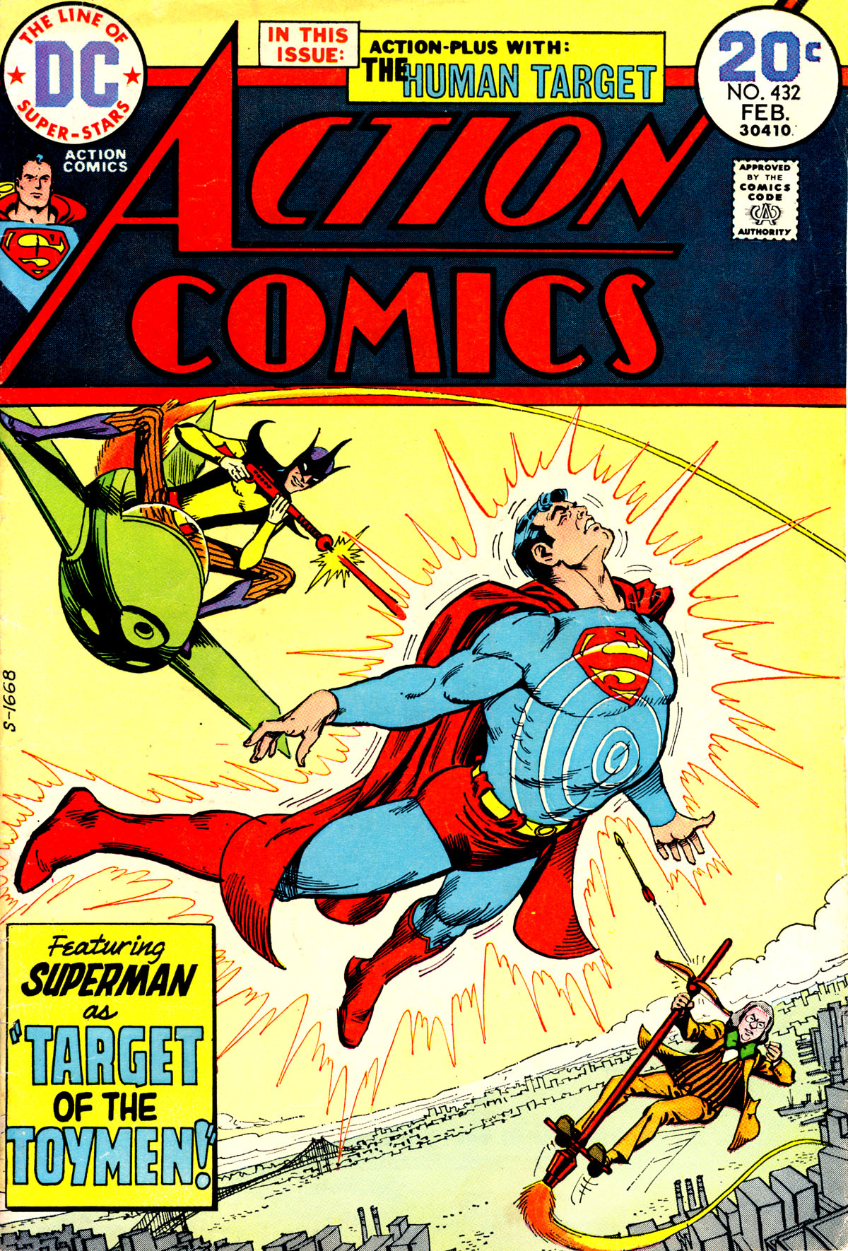 Read online Action Comics (1938) comic -  Issue #432 - 1