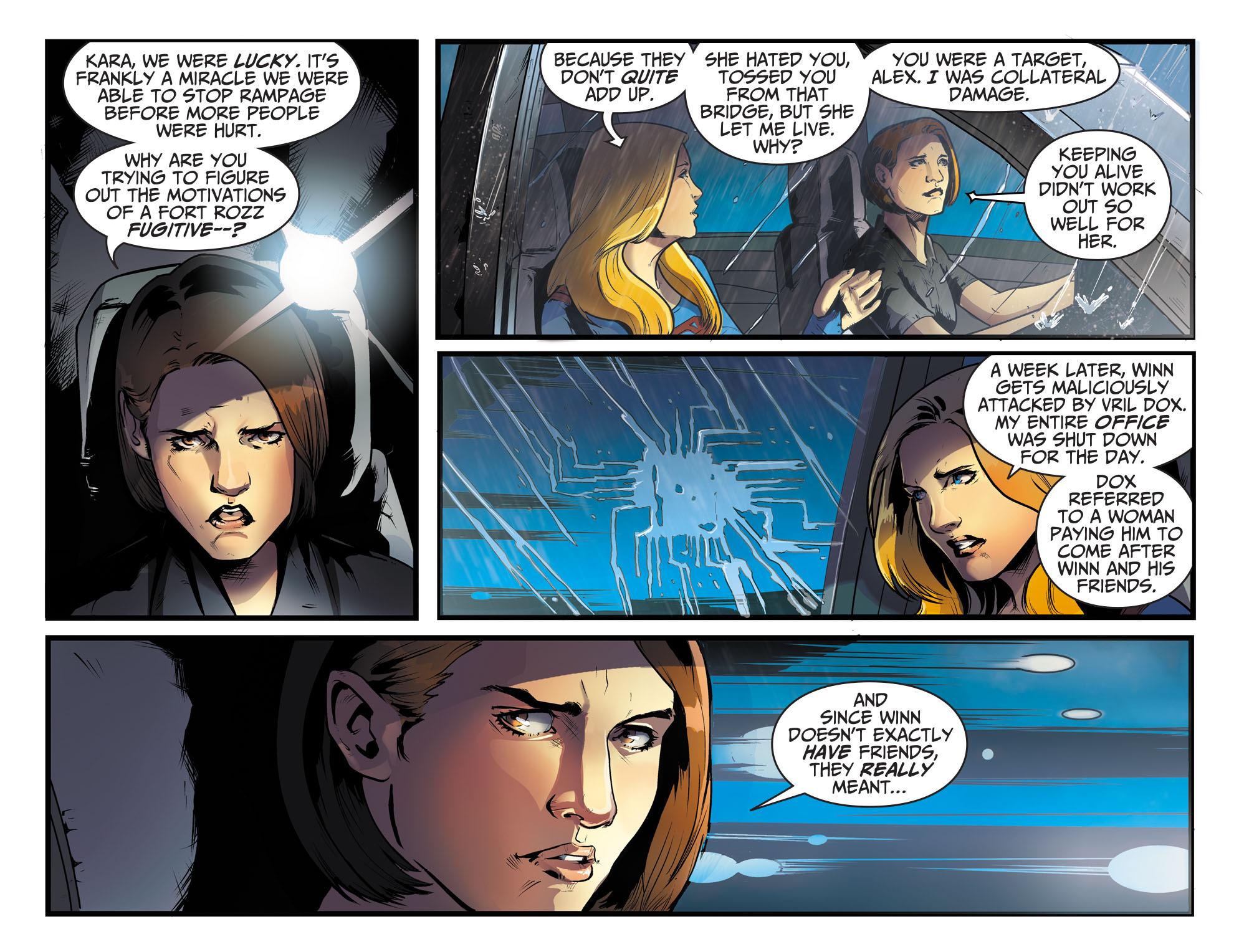 Read online Adventures of Supergirl comic -  Issue #8 - 9