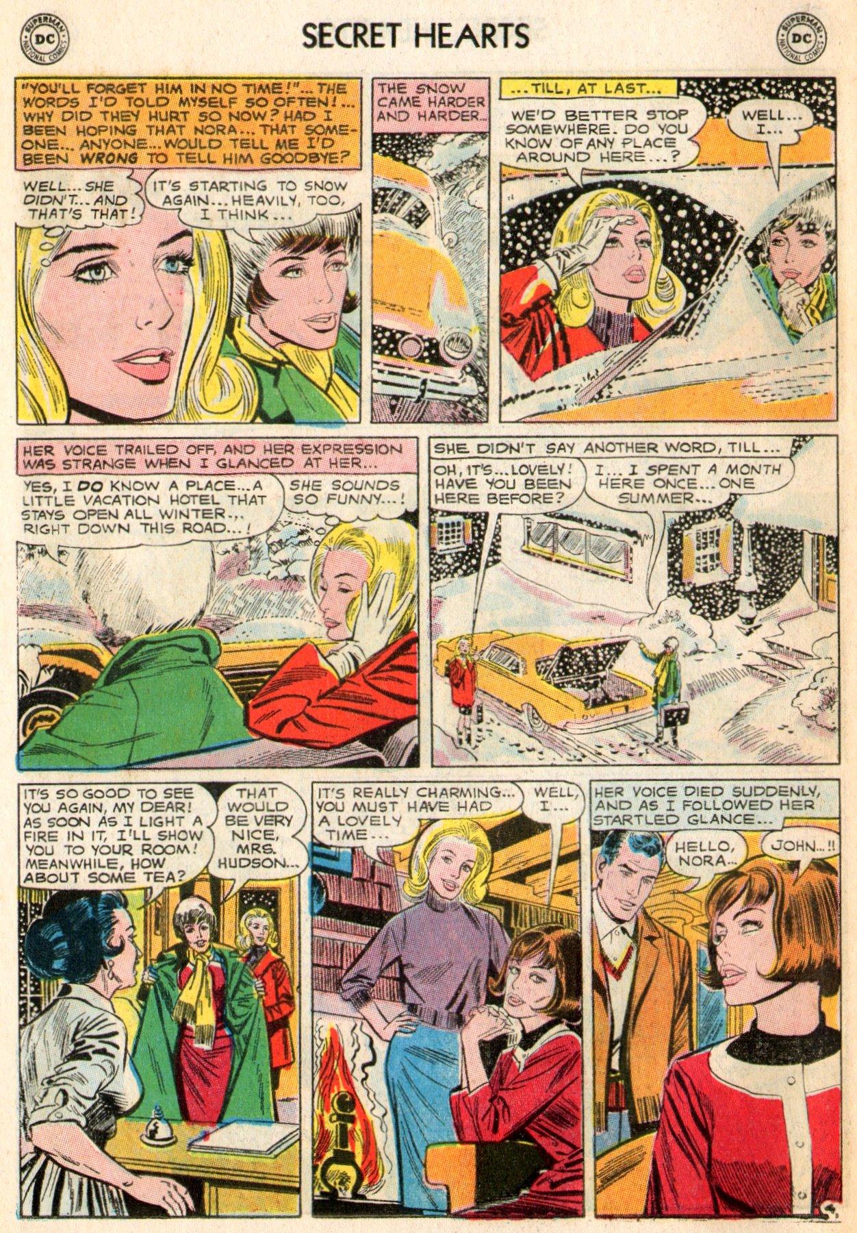 Read online Secret Hearts comic -  Issue #103 - 14