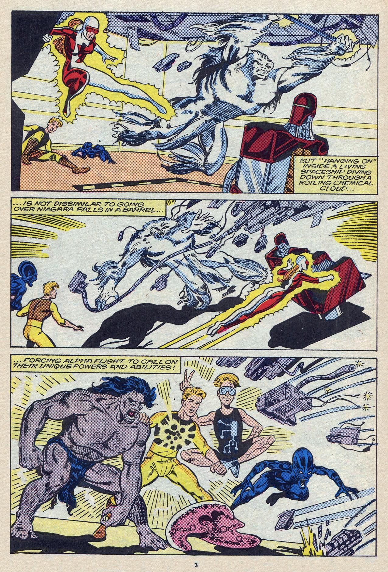 Read online Alpha Flight (1983) comic -  Issue #57 - 5